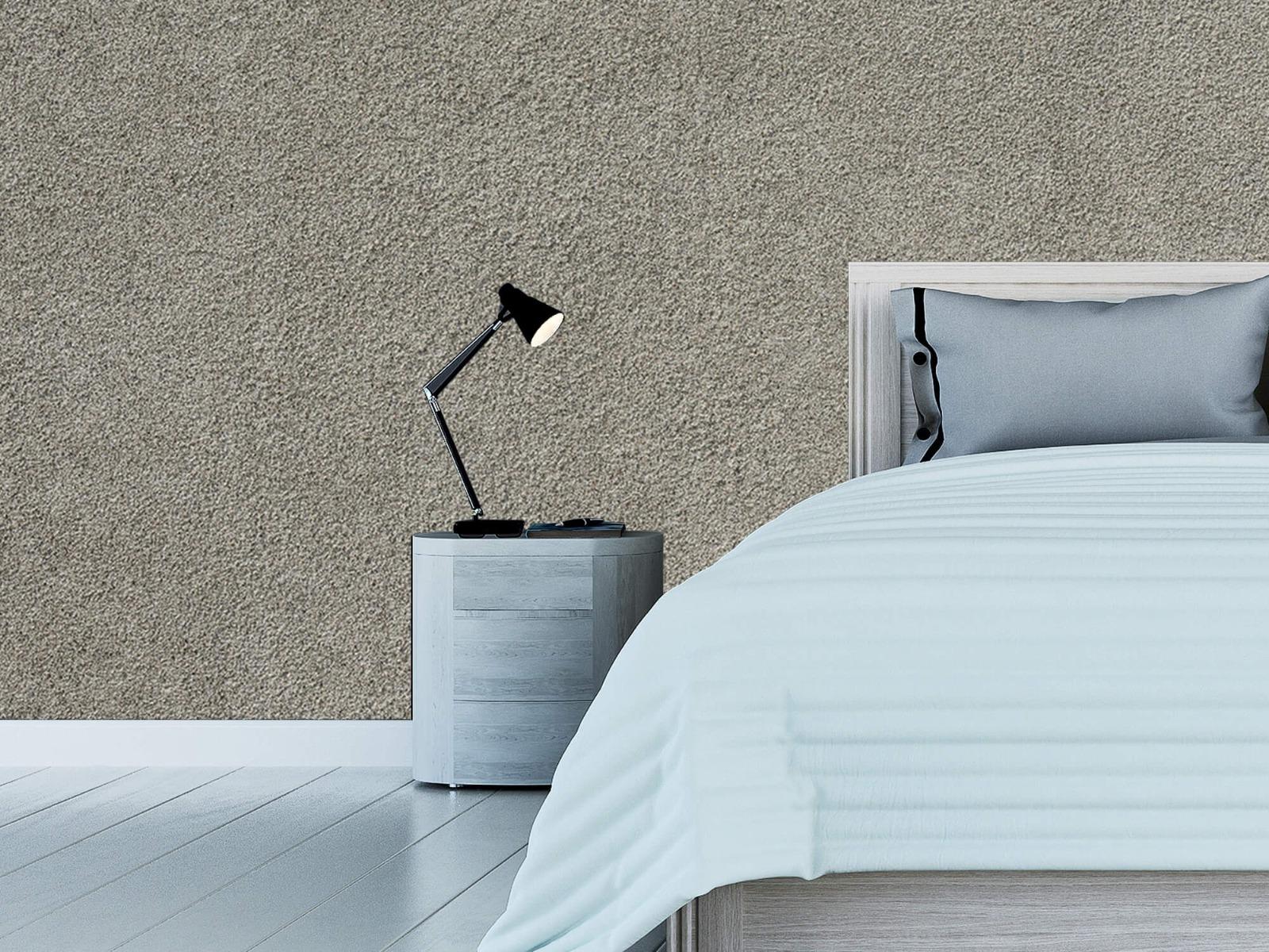 Betonlook behang - Betonnen muur met fijne steentjes - Kantoor 12