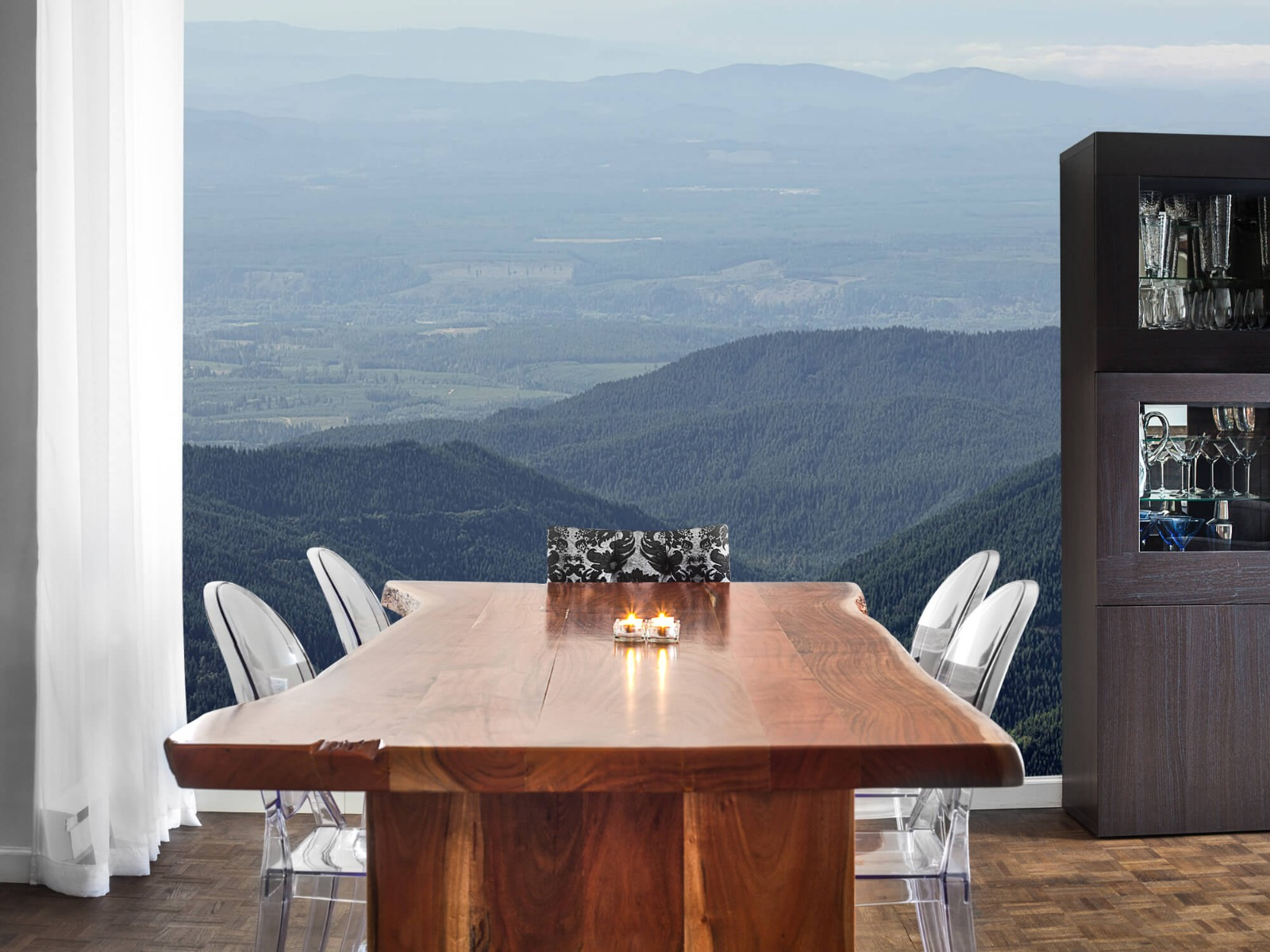 Bergen - Uitzicht vanuit de bergen - Woonkamer 2