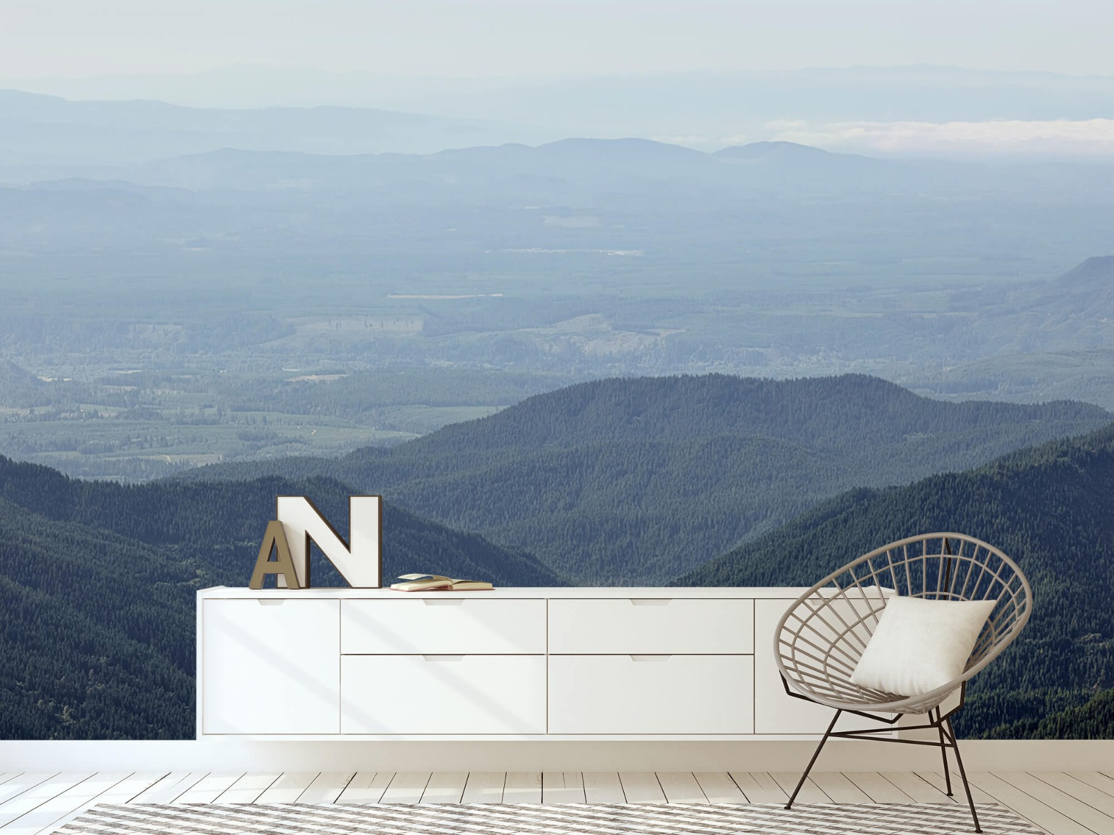 Bergen - Uitzicht vanuit de bergen - Woonkamer 23