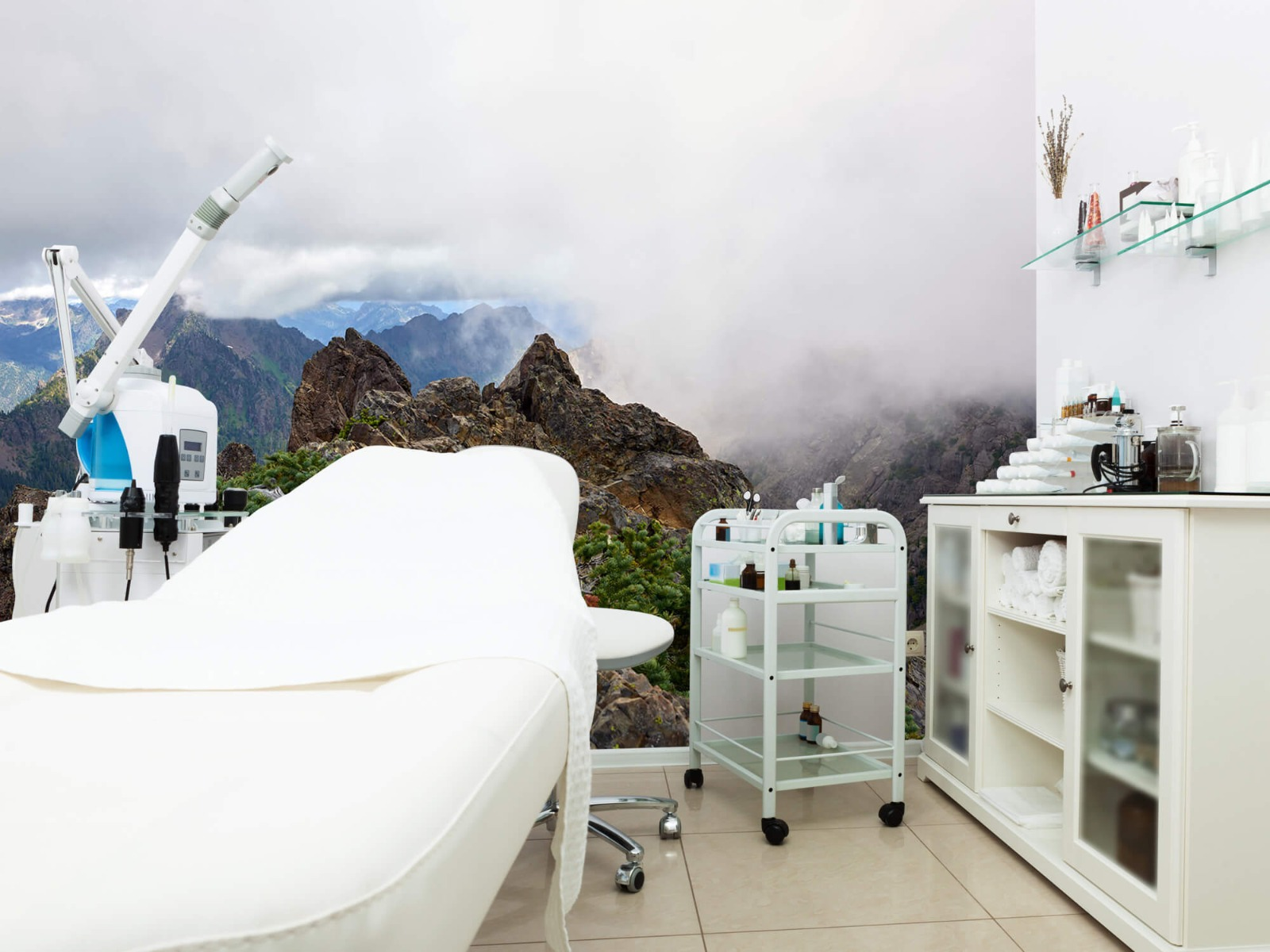 Bergen - Bergtop in de wolken - Slaapkamer 4