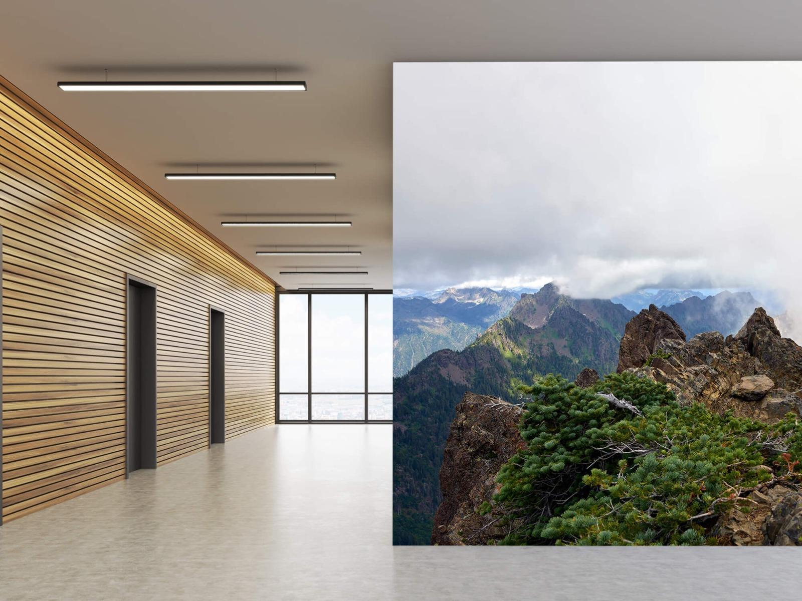 Bergen - Bergtop in de wolken - Slaapkamer 5