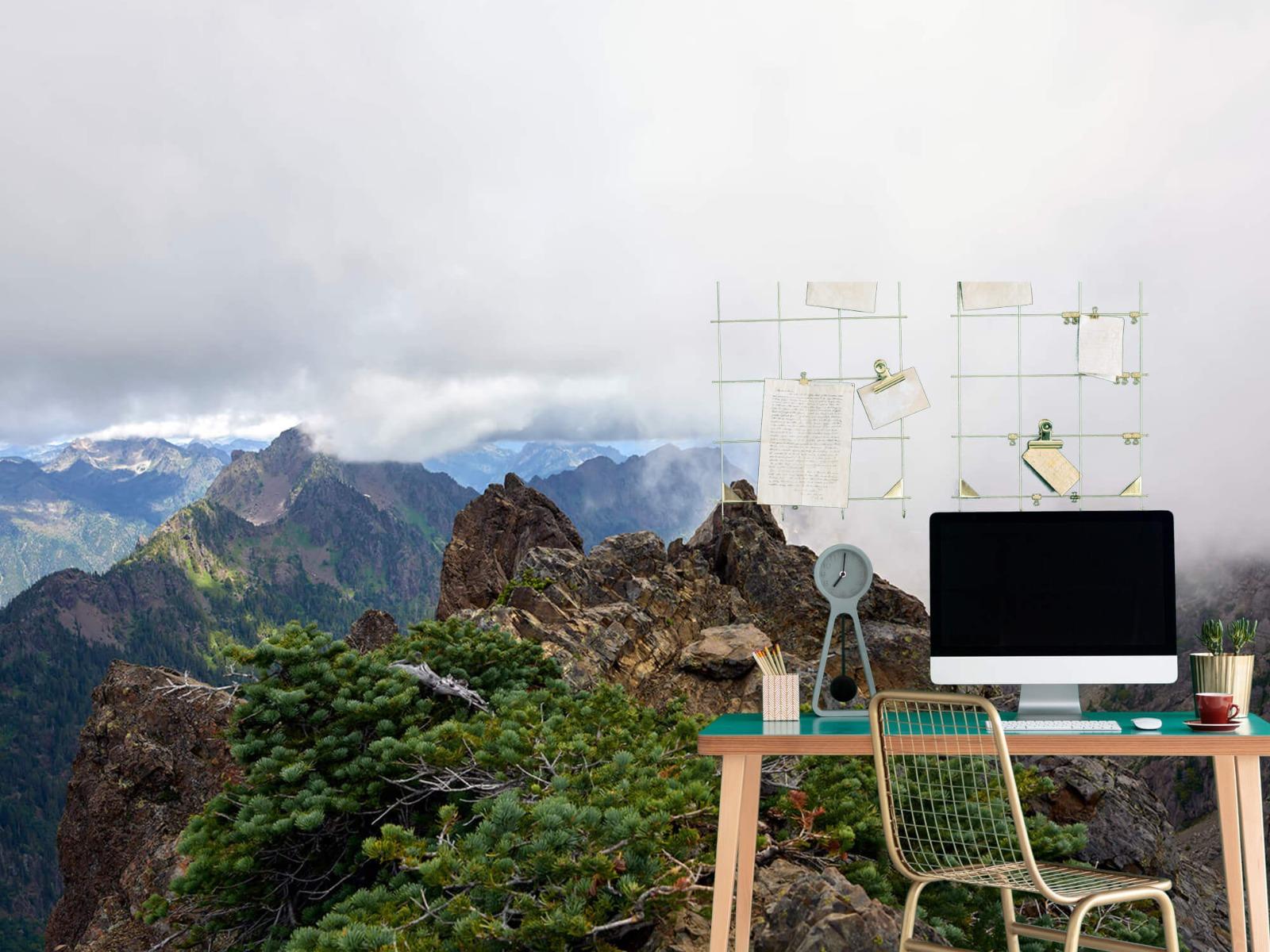 Bergen - Bergtop in de wolken - Slaapkamer 7