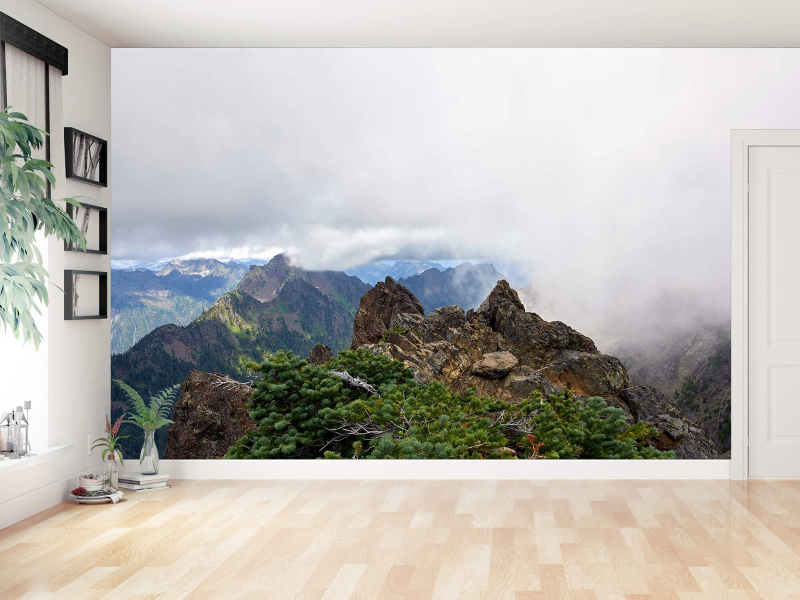 Bergen - Bergtop in de wolken - Slaapkamer 11