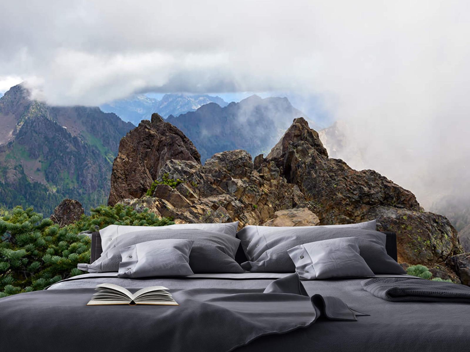 Bergen - Bergtop in de wolken - Slaapkamer 17