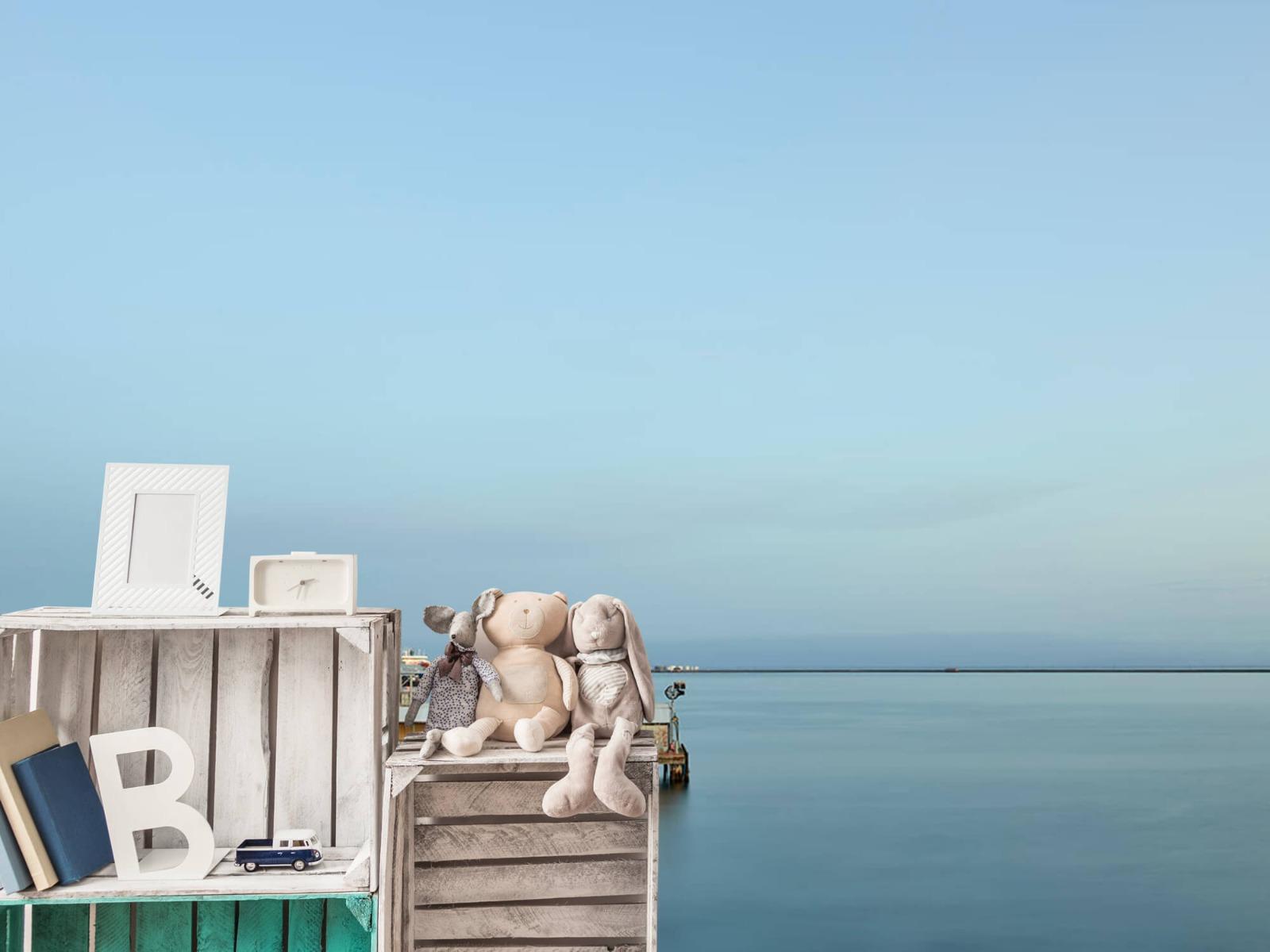 Zeeën en Oceanen - De haven ontwaakt - Wallexclusive - Slaapkamer 19