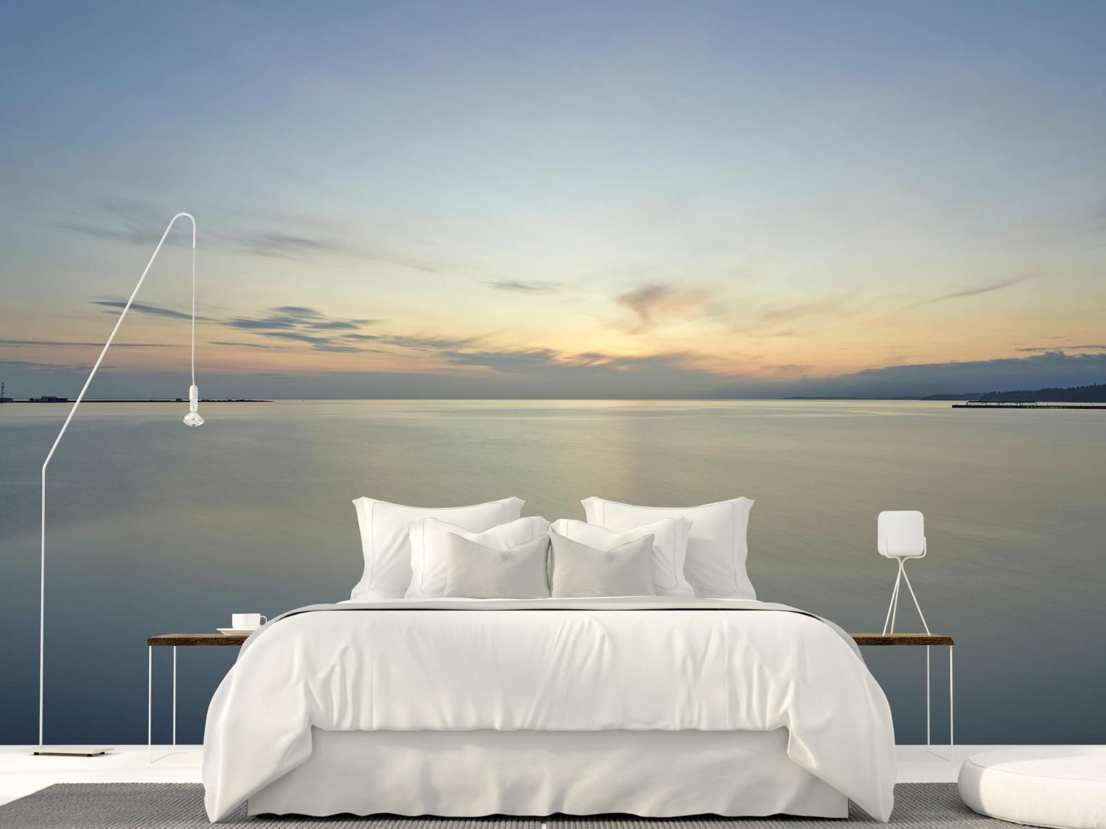 Zeeën en Oceanen - Zonsopkomst aan de kust - Wallexclusive - Slaapkamer 16