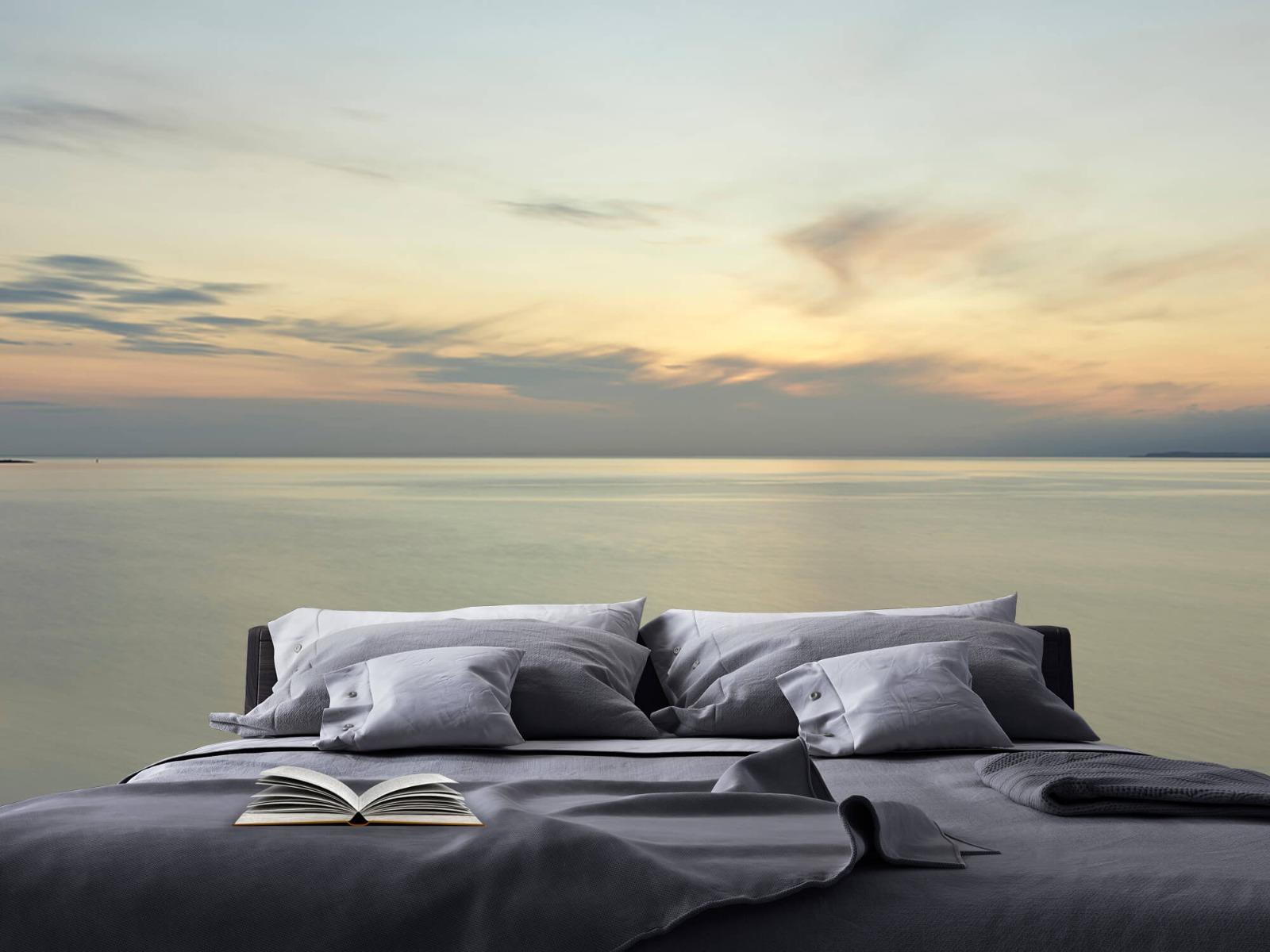 Zeeën en Oceanen - Zonsopkomst aan de kust - Wallexclusive - Slaapkamer 17