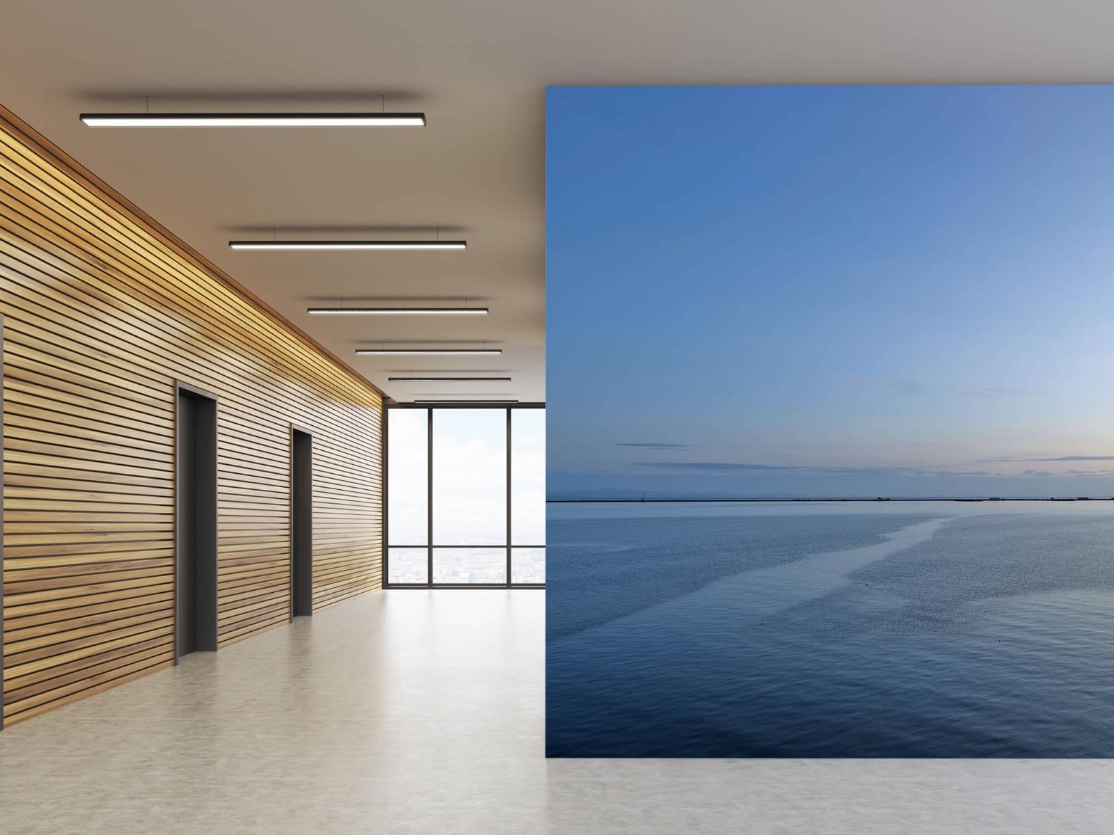 Zeeën en Oceanen - Zee en zonsopkomst - Wallexclusive - Woonkamer 1