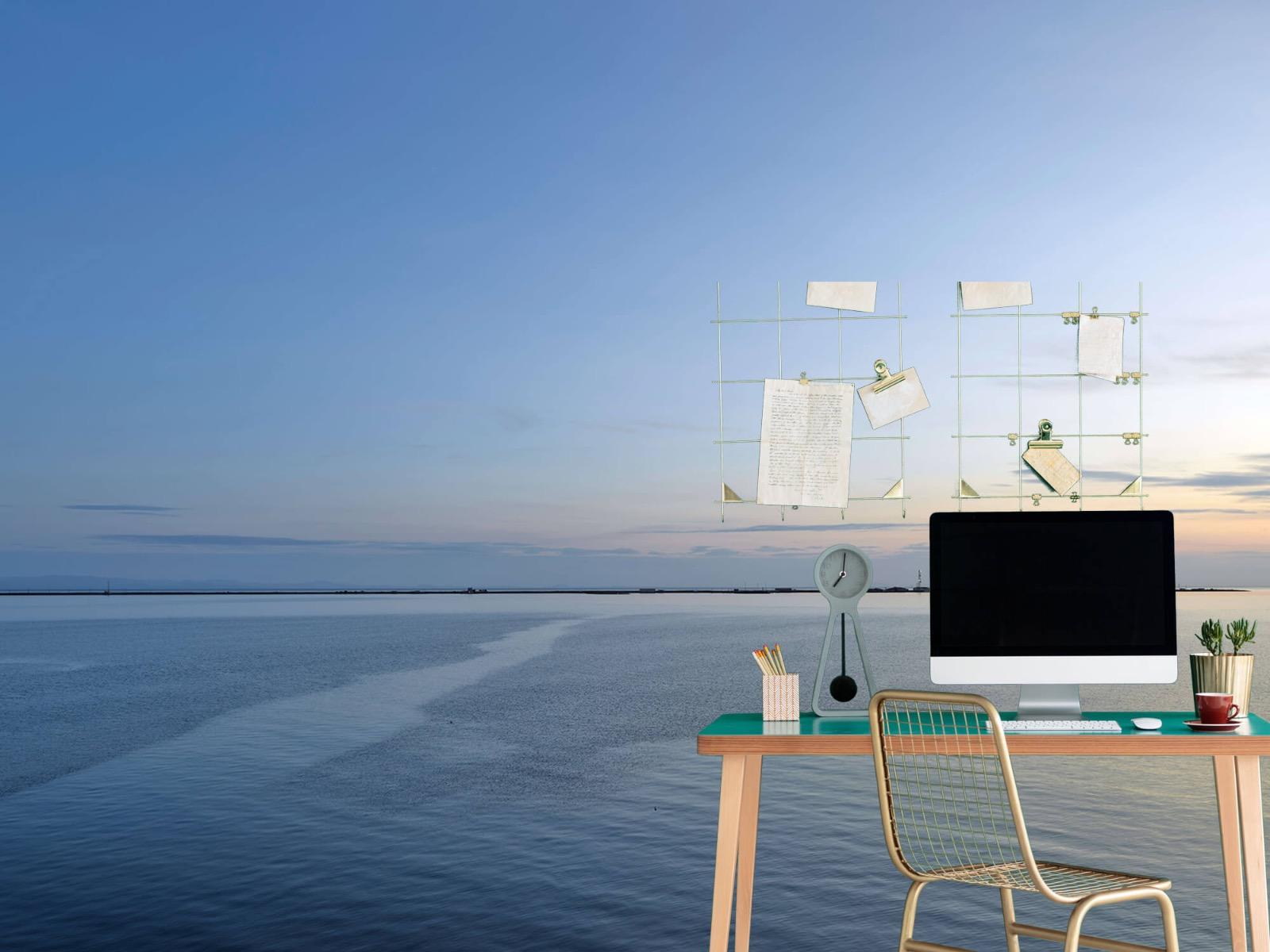 Zeeën en Oceanen - Zee en zonsopkomst - Wallexclusive - Woonkamer 8