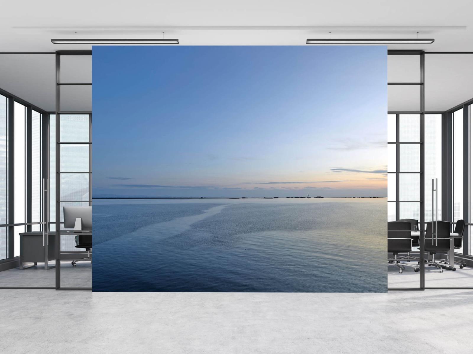 Zeeën en Oceanen - Zee en zonsopkomst - Wallexclusive - Woonkamer 9