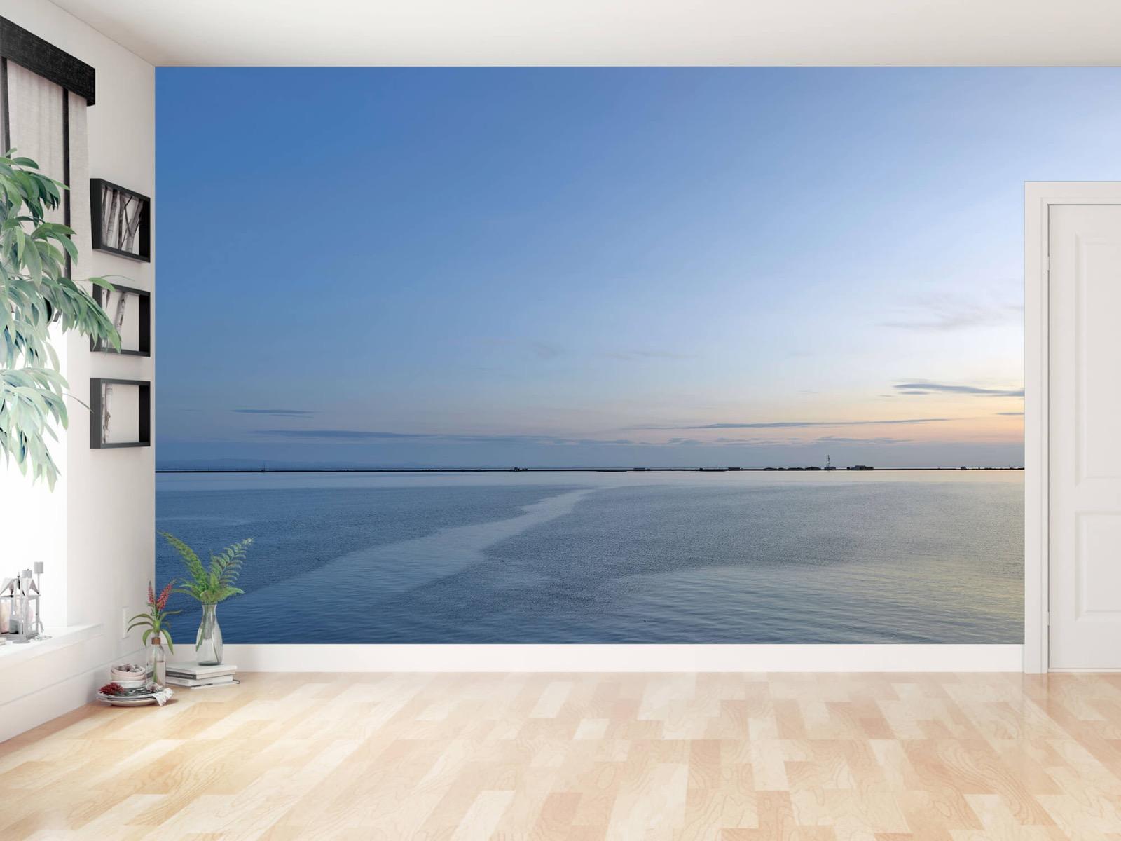 Zeeën en Oceanen - Zee en zonsopkomst - Wallexclusive - Woonkamer 11
