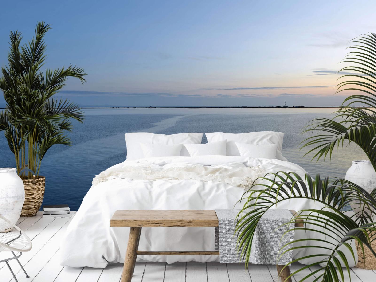 Zeeën en Oceanen - Zee en zonsopkomst - Wallexclusive - Woonkamer 13