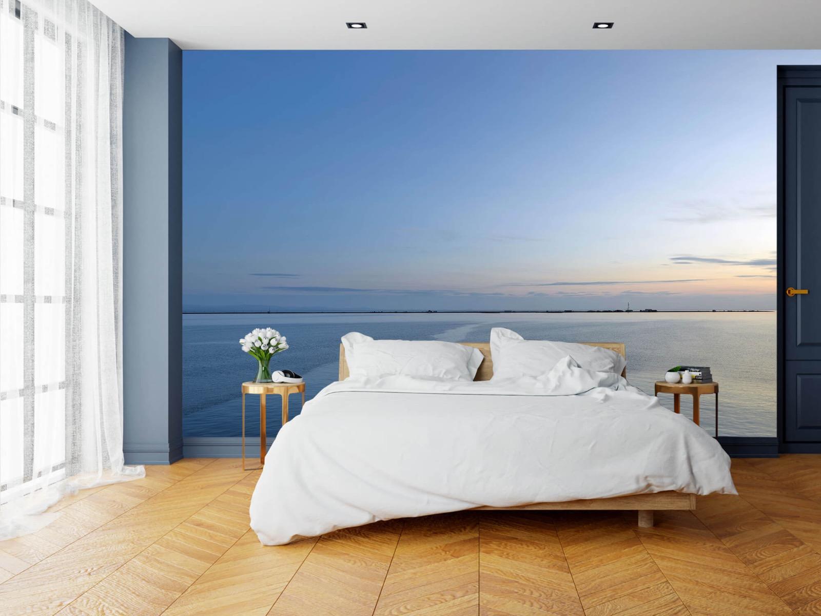 Zeeën en Oceanen - Zee en zonsopkomst - Wallexclusive - Woonkamer 15