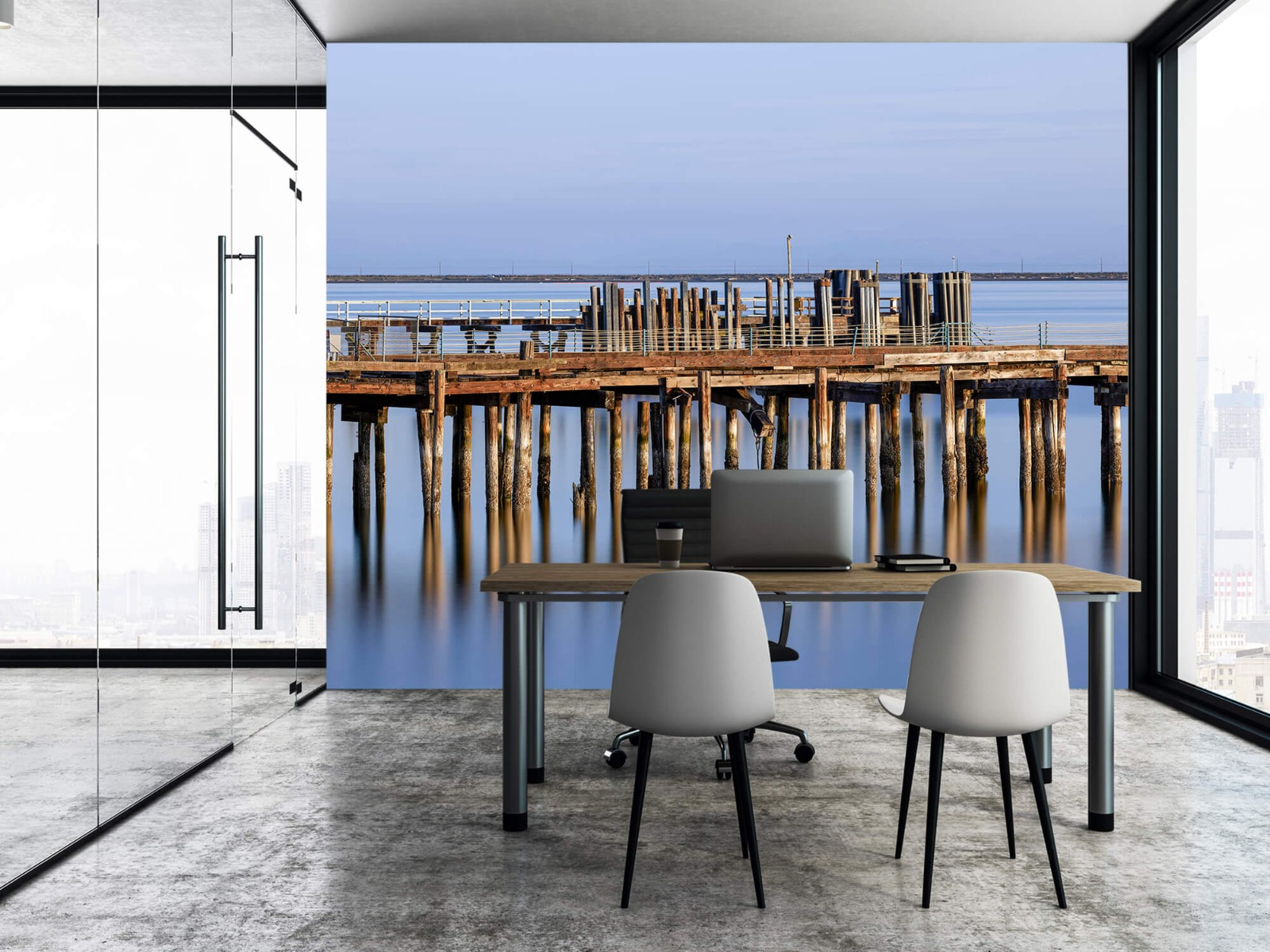 Houten Steigers - Steiger op houten palen - Wallexclusive - Slaapkamer 4