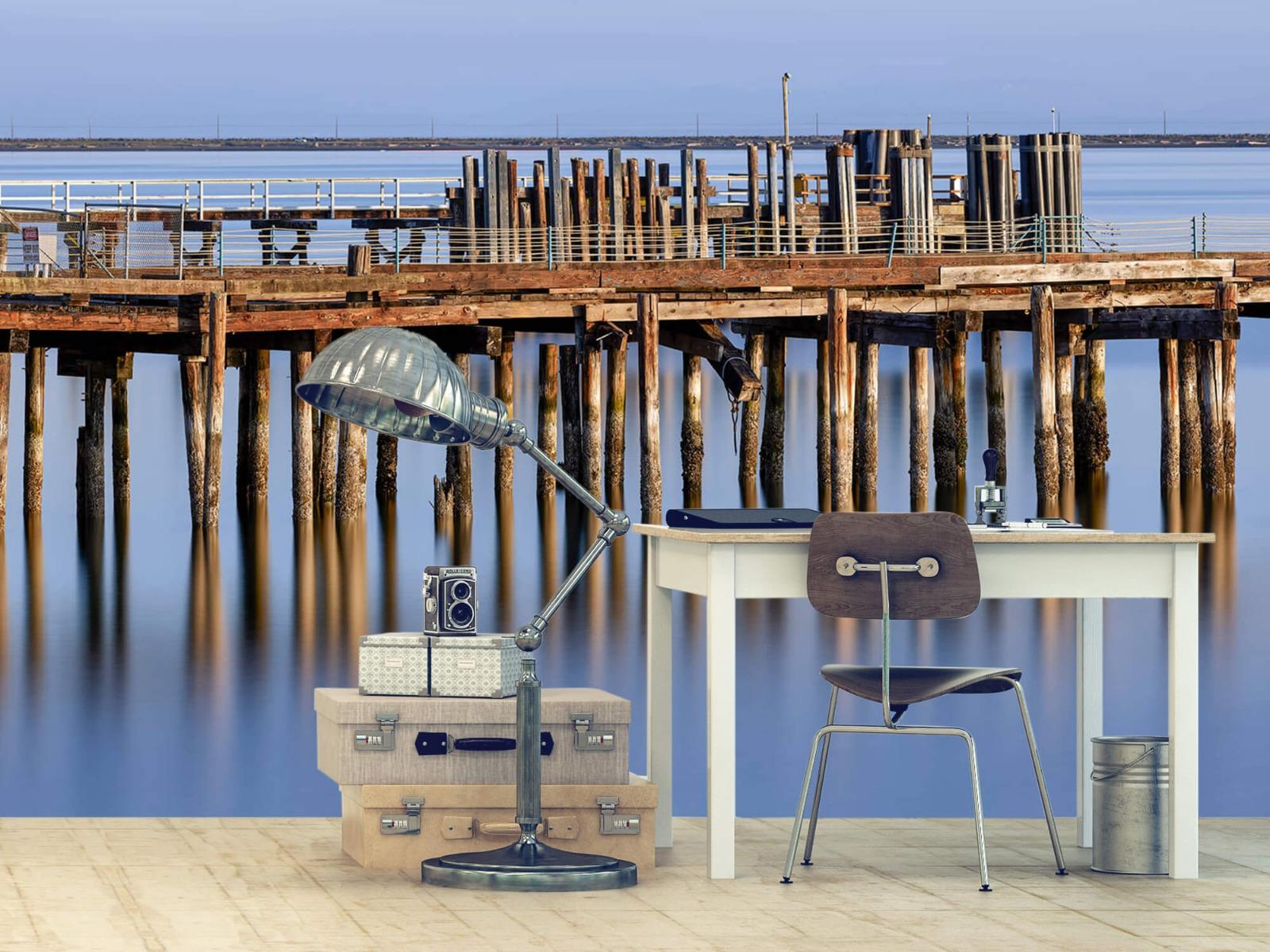 Houten Steigers - Steiger op houten palen - Wallexclusive - Slaapkamer 10