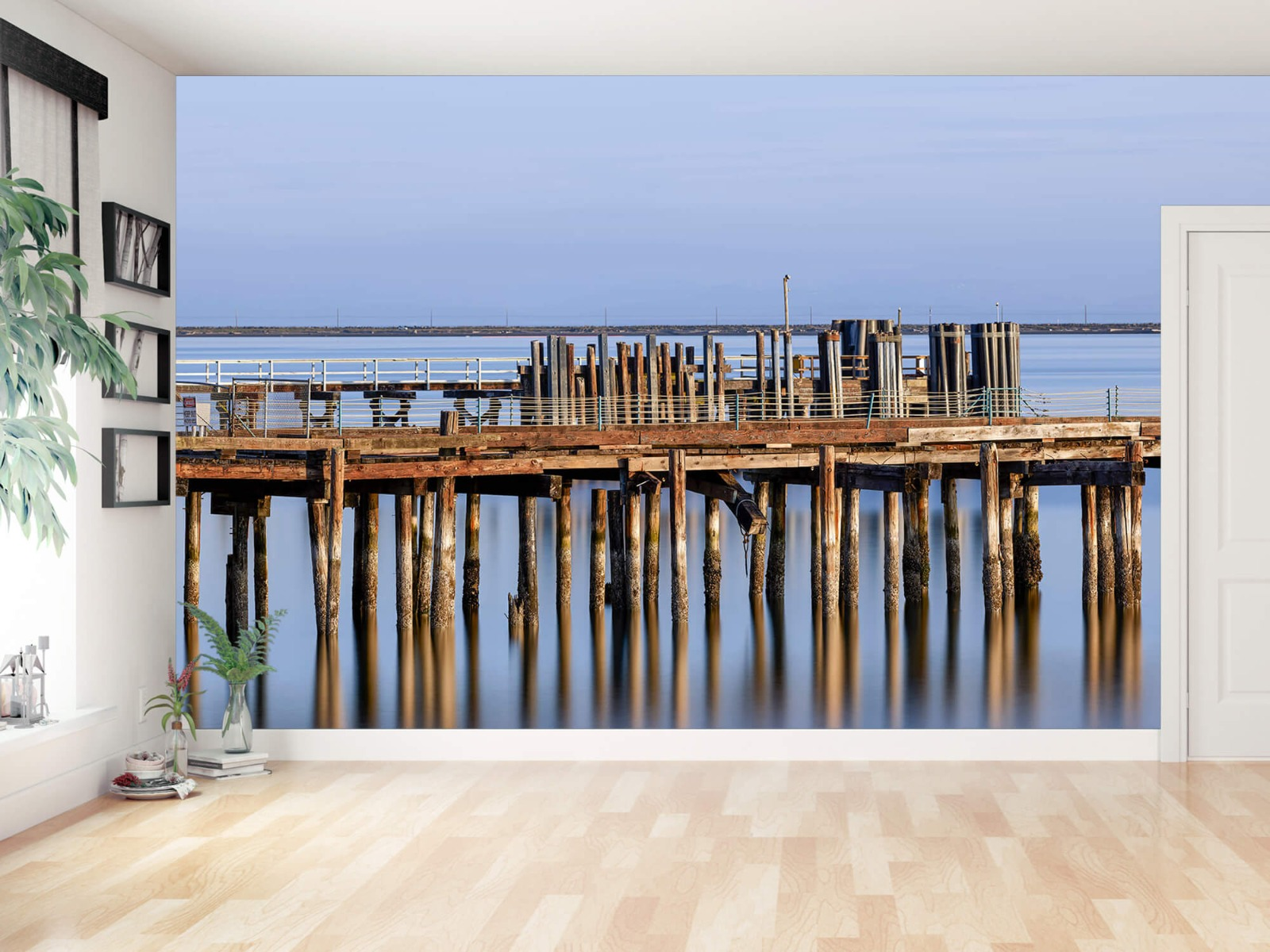 Houten Steigers - Steiger op houten palen - Wallexclusive - Slaapkamer 12