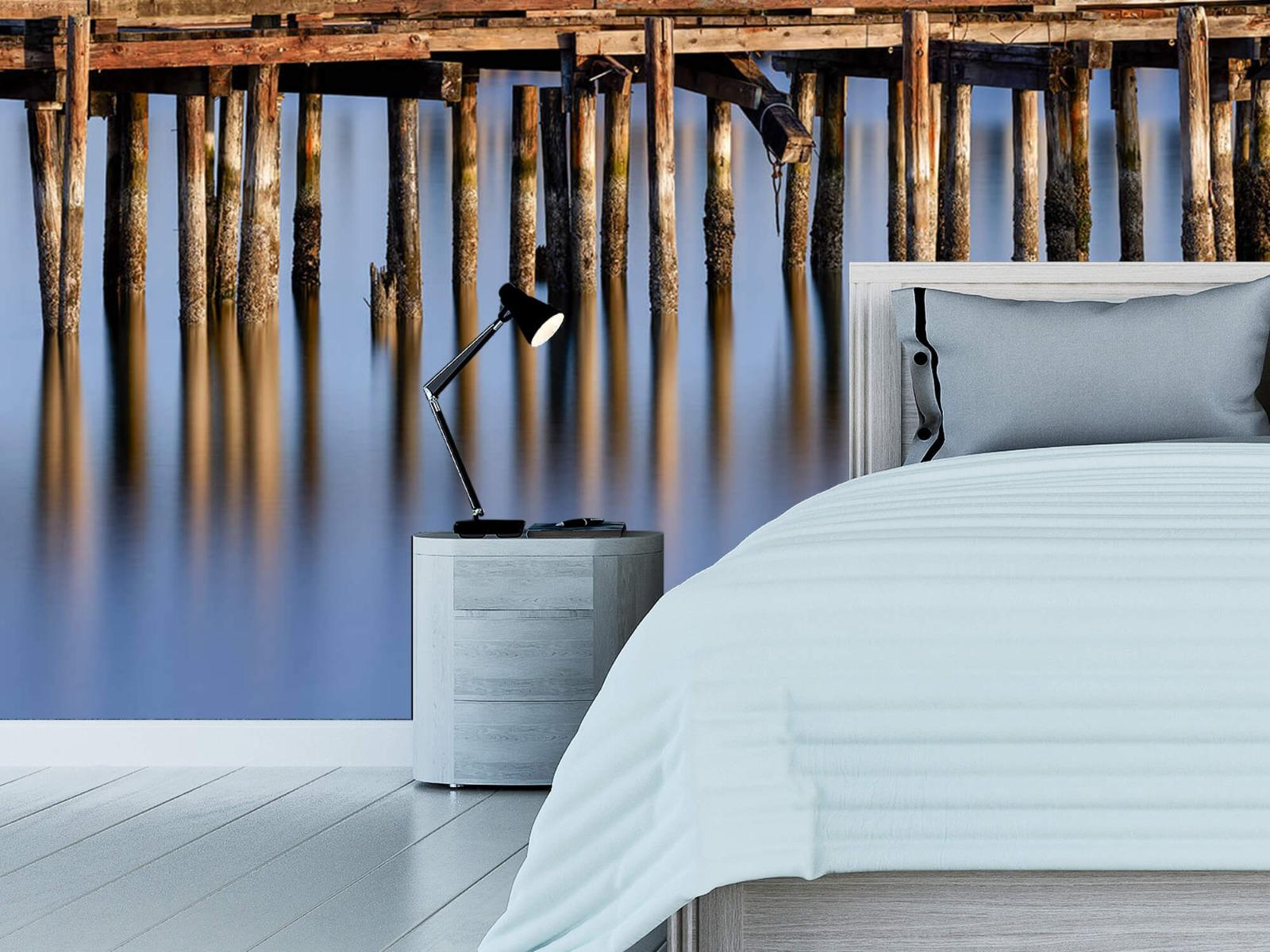 Houten Steigers - Steiger op houten palen - Wallexclusive - Slaapkamer 13