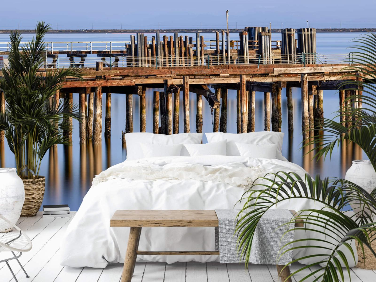 Houten Steigers - Steiger op houten palen - Wallexclusive - Slaapkamer 14