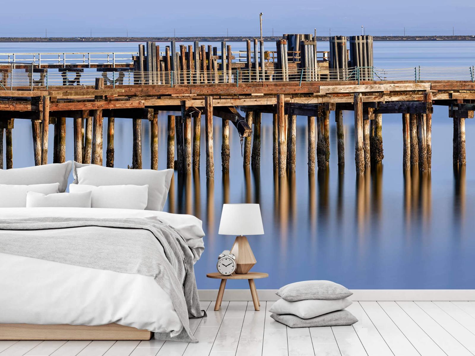 Houten Steigers - Steiger op houten palen - Wallexclusive - Slaapkamer 1