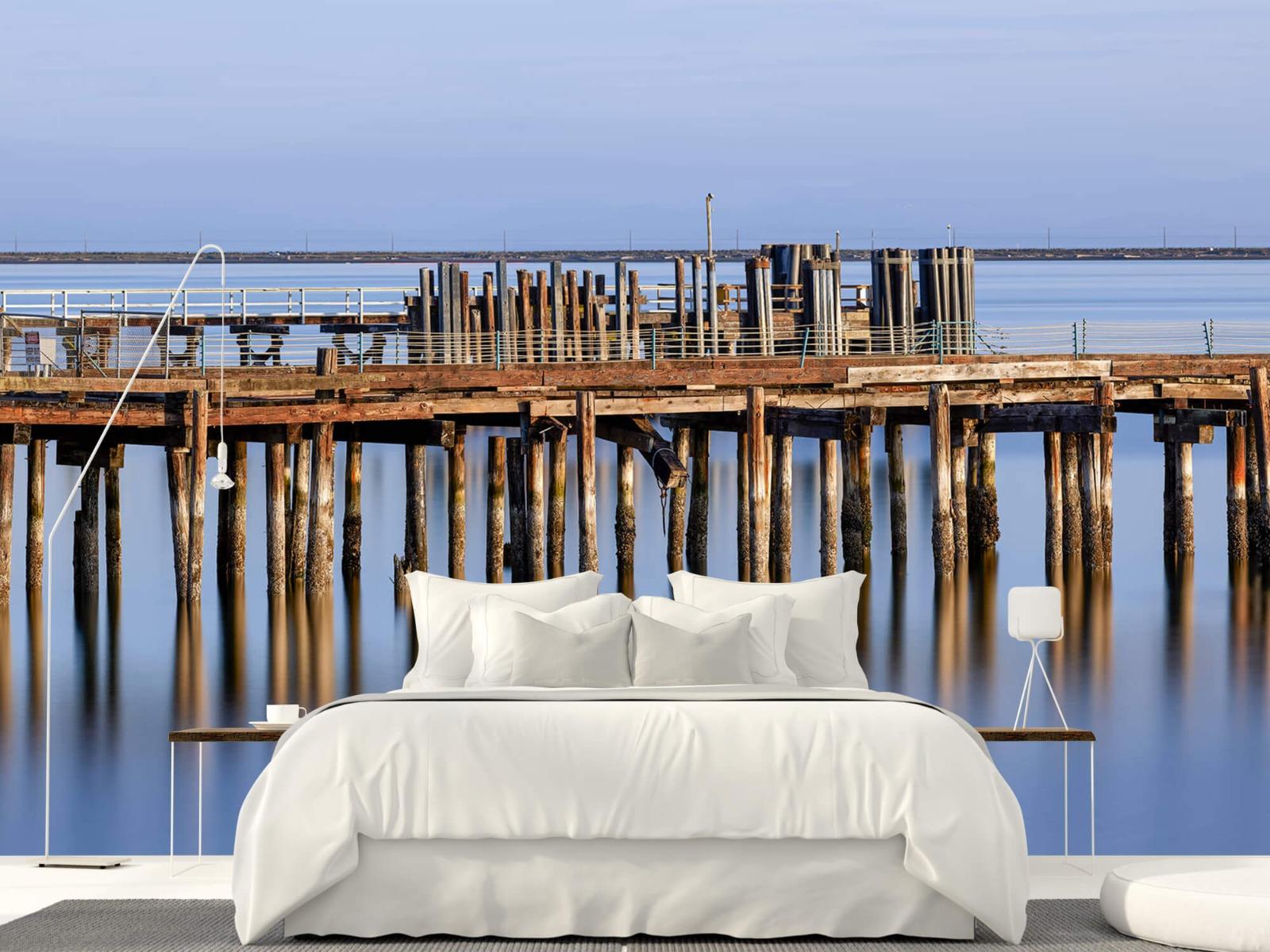 Houten Steigers - Steiger op houten palen - Wallexclusive - Slaapkamer 16