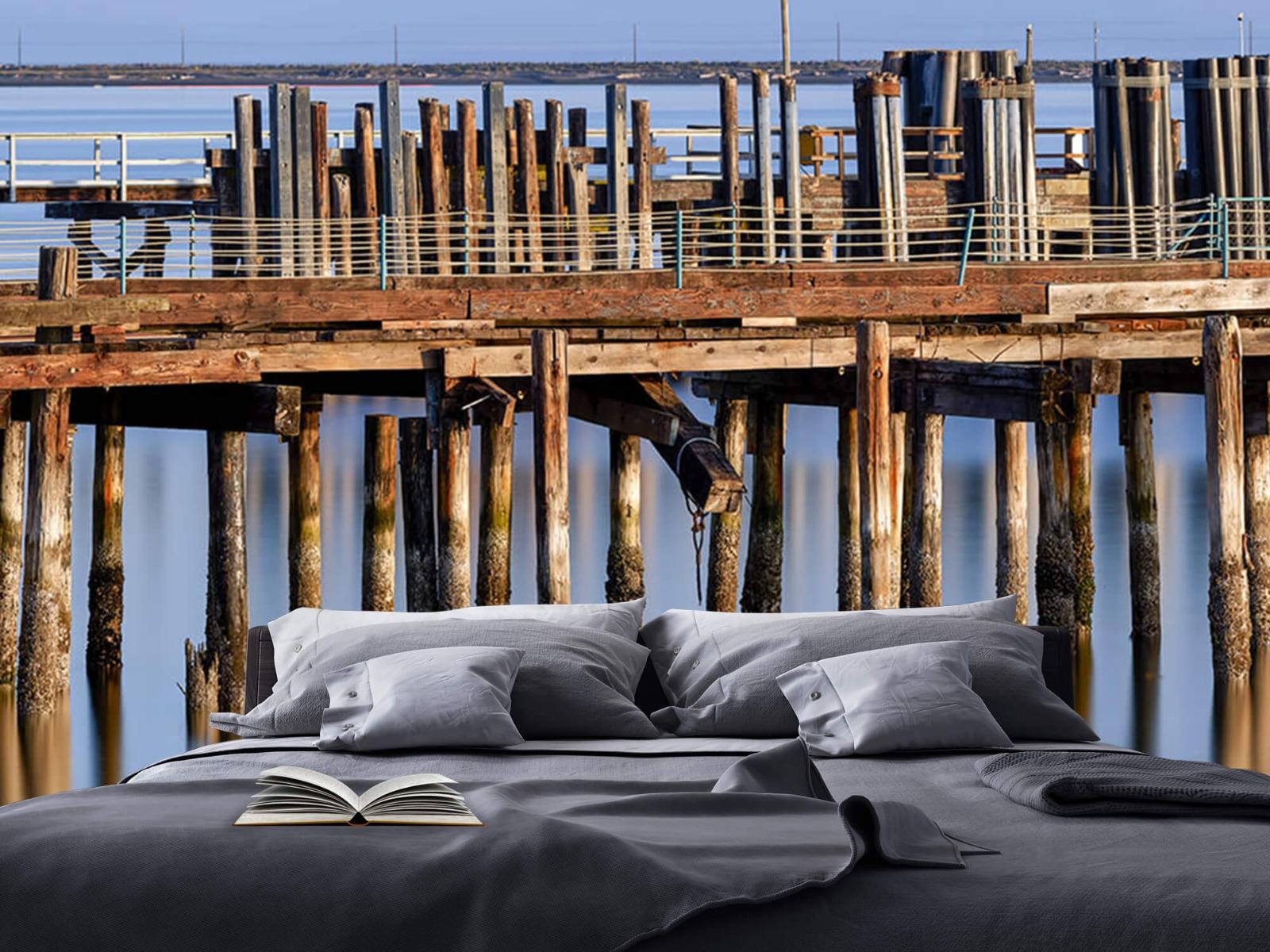 Houten Steigers - Steiger op houten palen - Wallexclusive - Slaapkamer 17