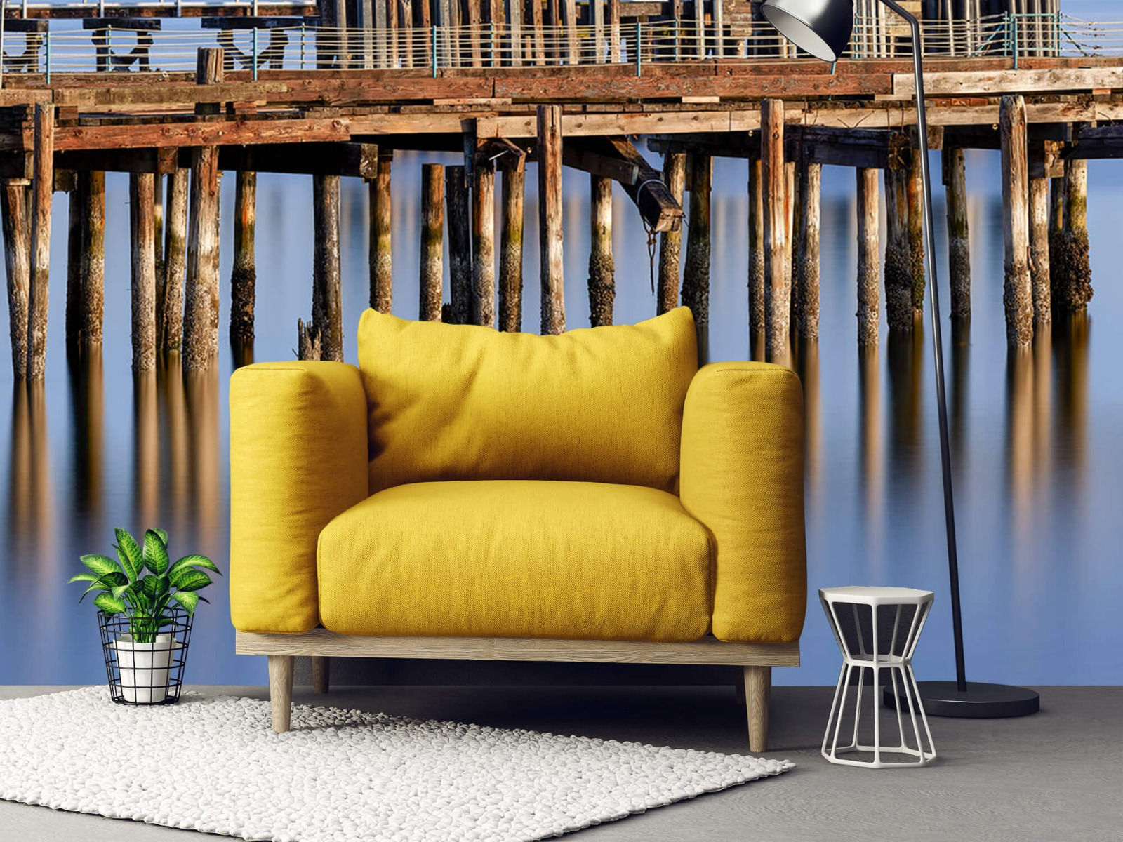 Houten Steigers - Steiger op houten palen - Wallexclusive - Slaapkamer 21