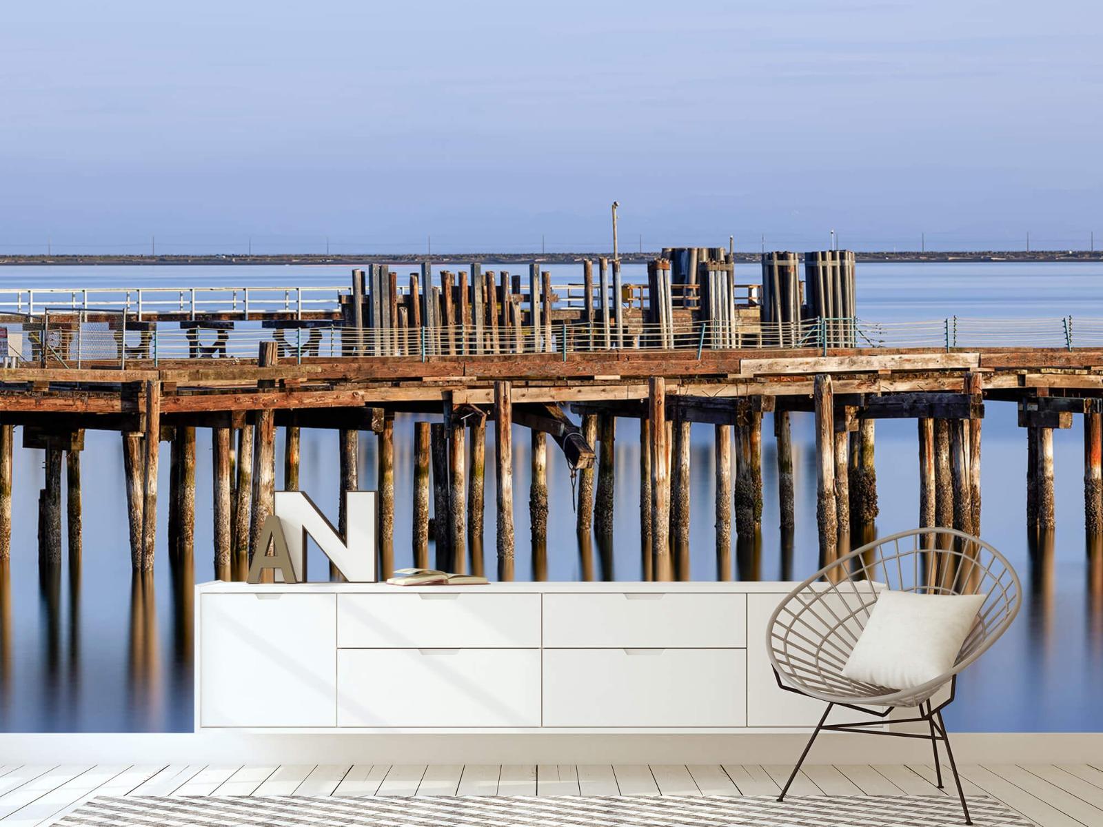 Houten Steigers - Steiger op houten palen - Wallexclusive - Slaapkamer 23