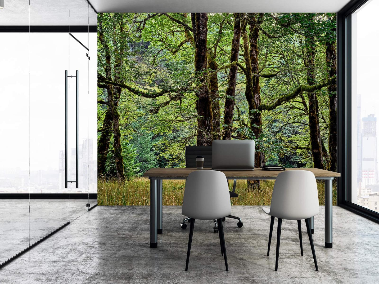 Bomen - Bomen met mos - Wallexclusive - Slaapkamer 5