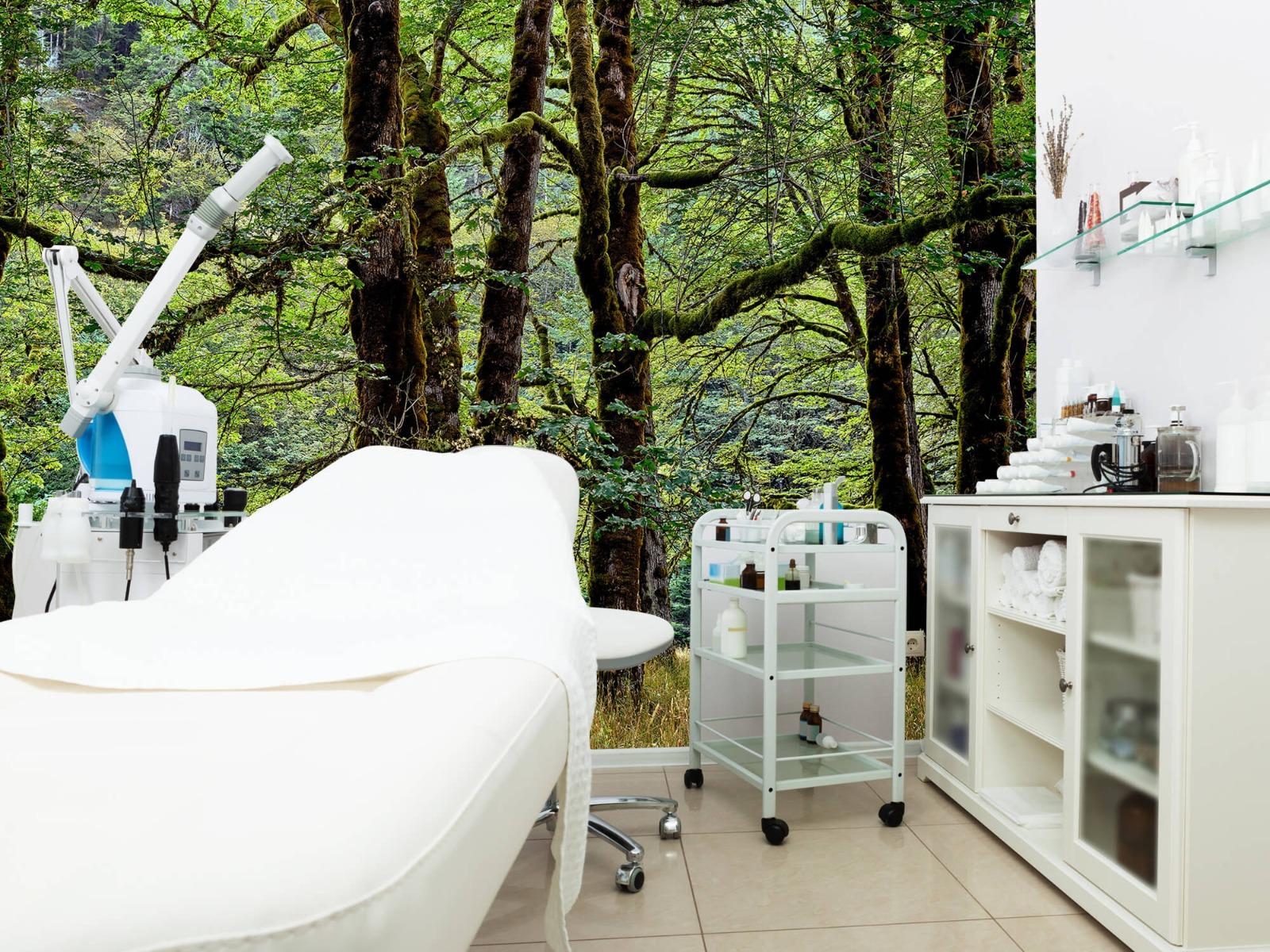 Bomen - Bomen met mos - Wallexclusive - Slaapkamer 6