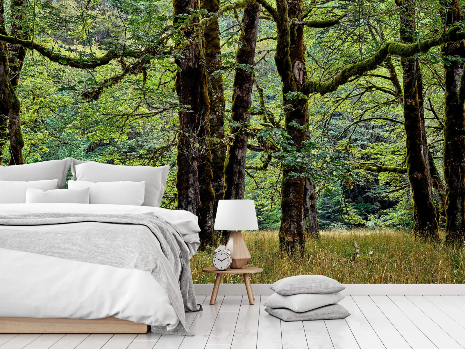 Bomen - Bomen met mos - Wallexclusive - Slaapkamer 15