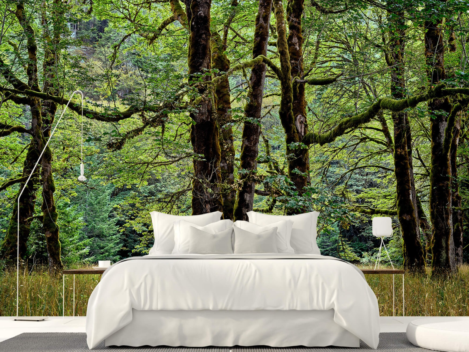 Bomen - Bomen met mos - Wallexclusive - Slaapkamer 17