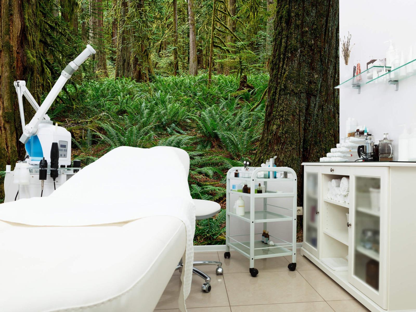 Bos behang - Varens en bomen - Wallexclusive - Slaapkamer 4