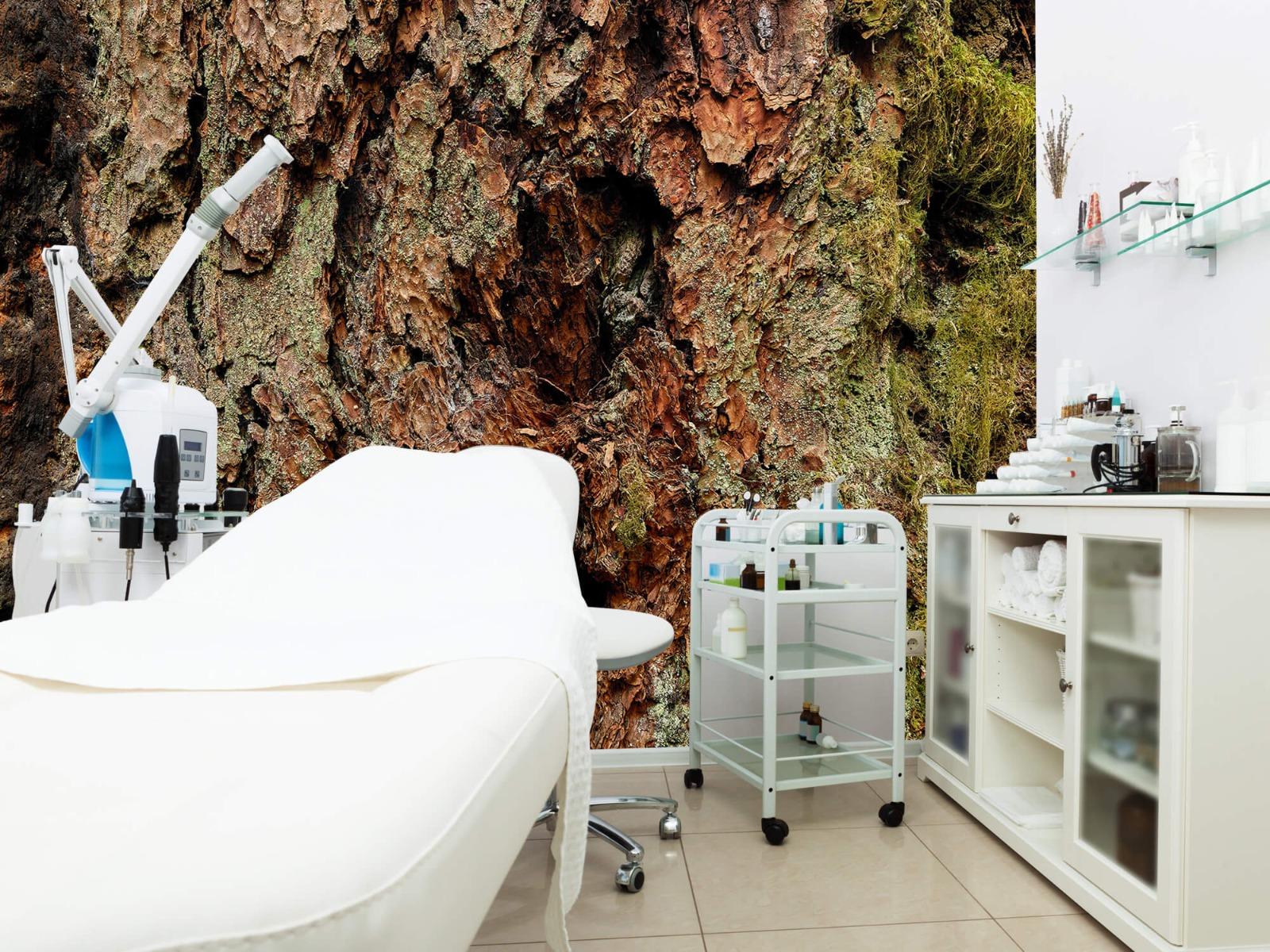 Hout behang - Boomschors oude boom - Wallexclusive - Slaapkamer 4