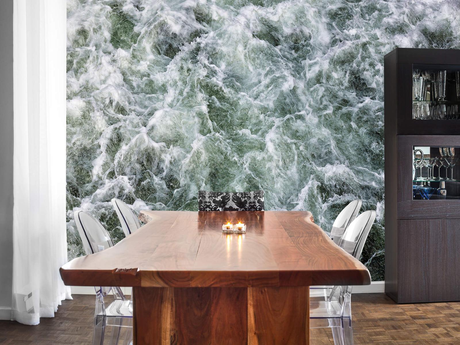 Zeeën en Oceanen - Kolkend water - Wallexclusive - Slaapkamer 2