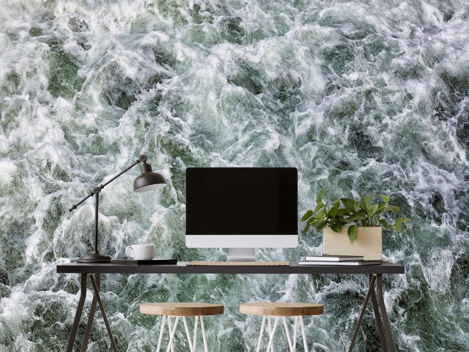 Zeeën en Oceanen - Kolkend water - Wallexclusive - Slaapkamer 6