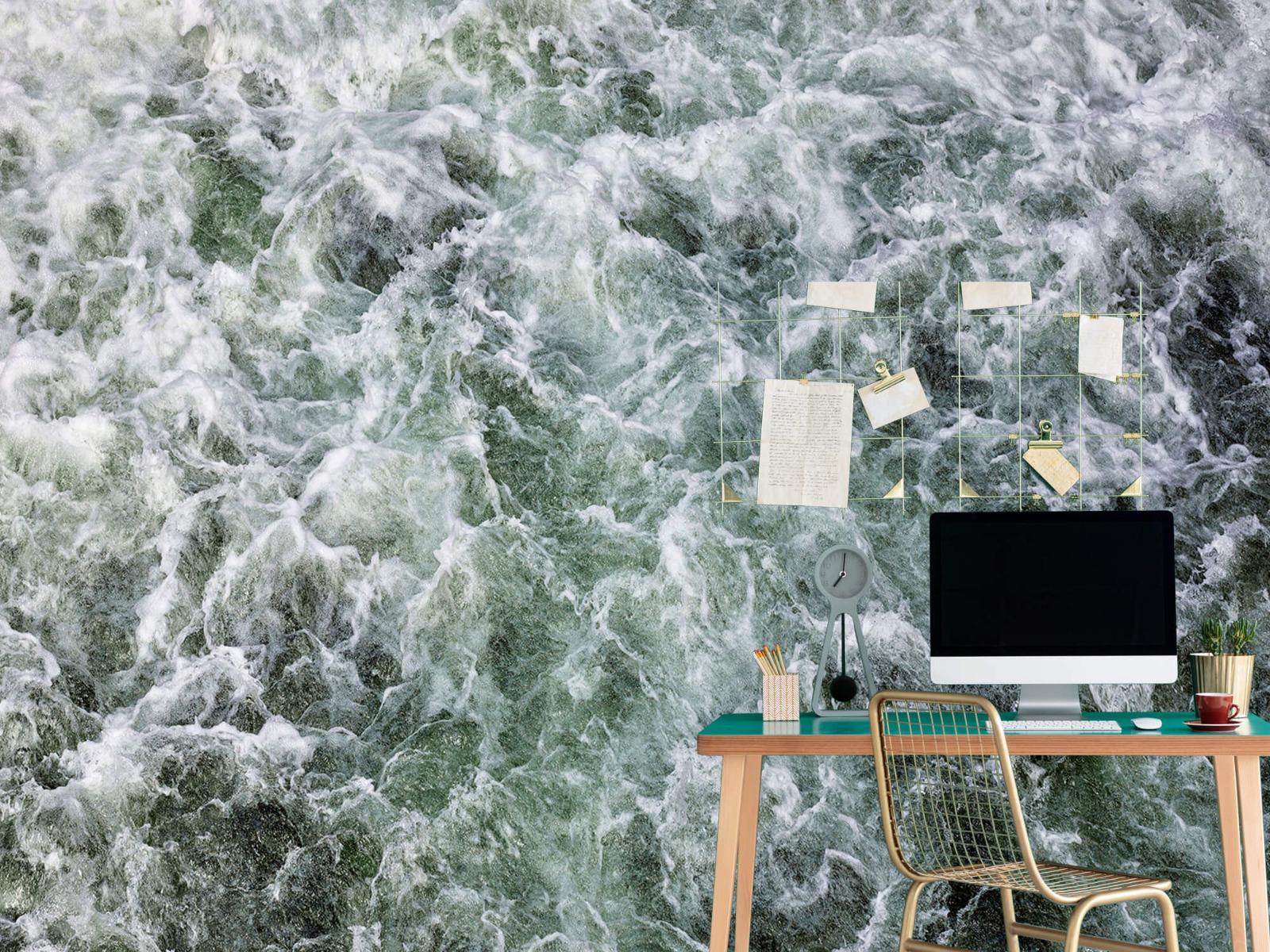 Zeeën en Oceanen - Kolkend water - Wallexclusive - Slaapkamer 7