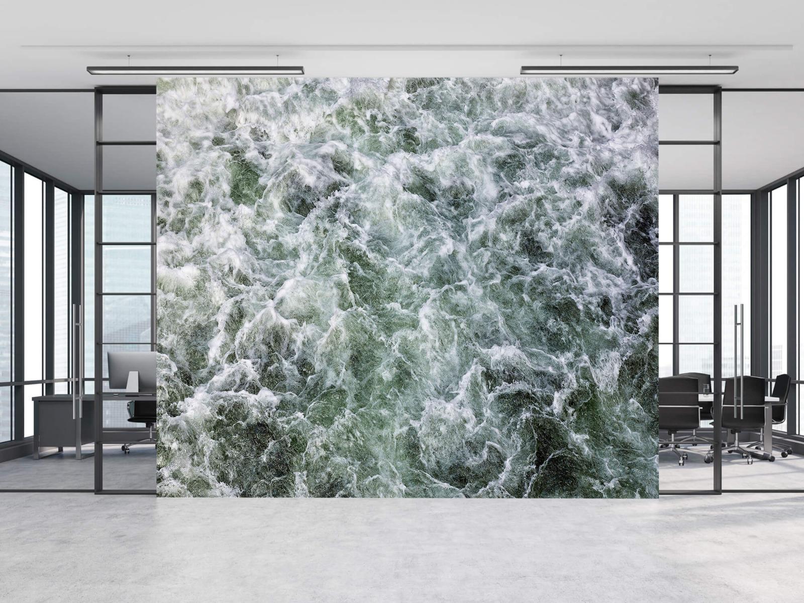 Zeeën en Oceanen - Kolkend water - Wallexclusive - Slaapkamer 8