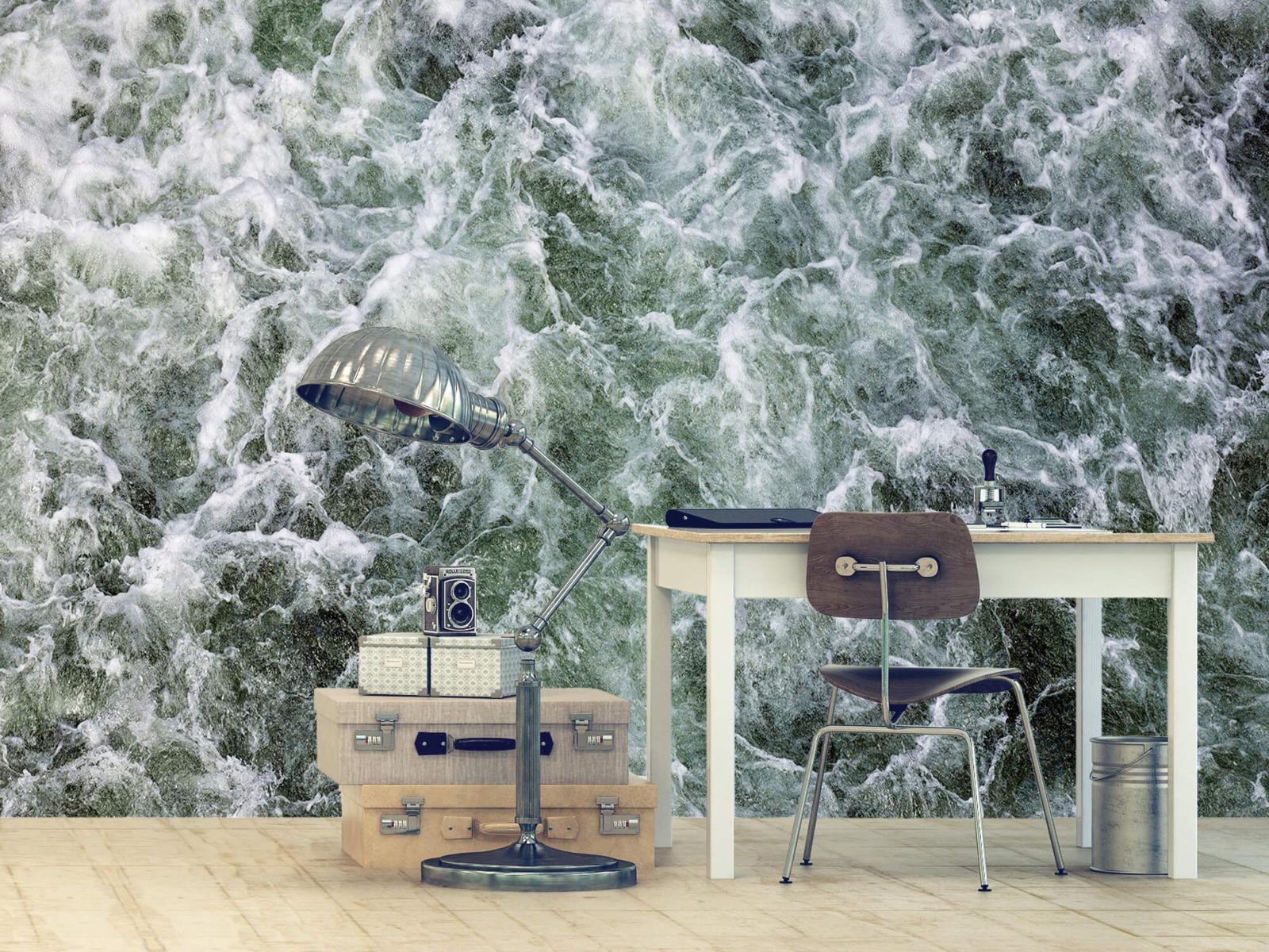 Zeeën en Oceanen - Kolkend water - Wallexclusive - Slaapkamer 9