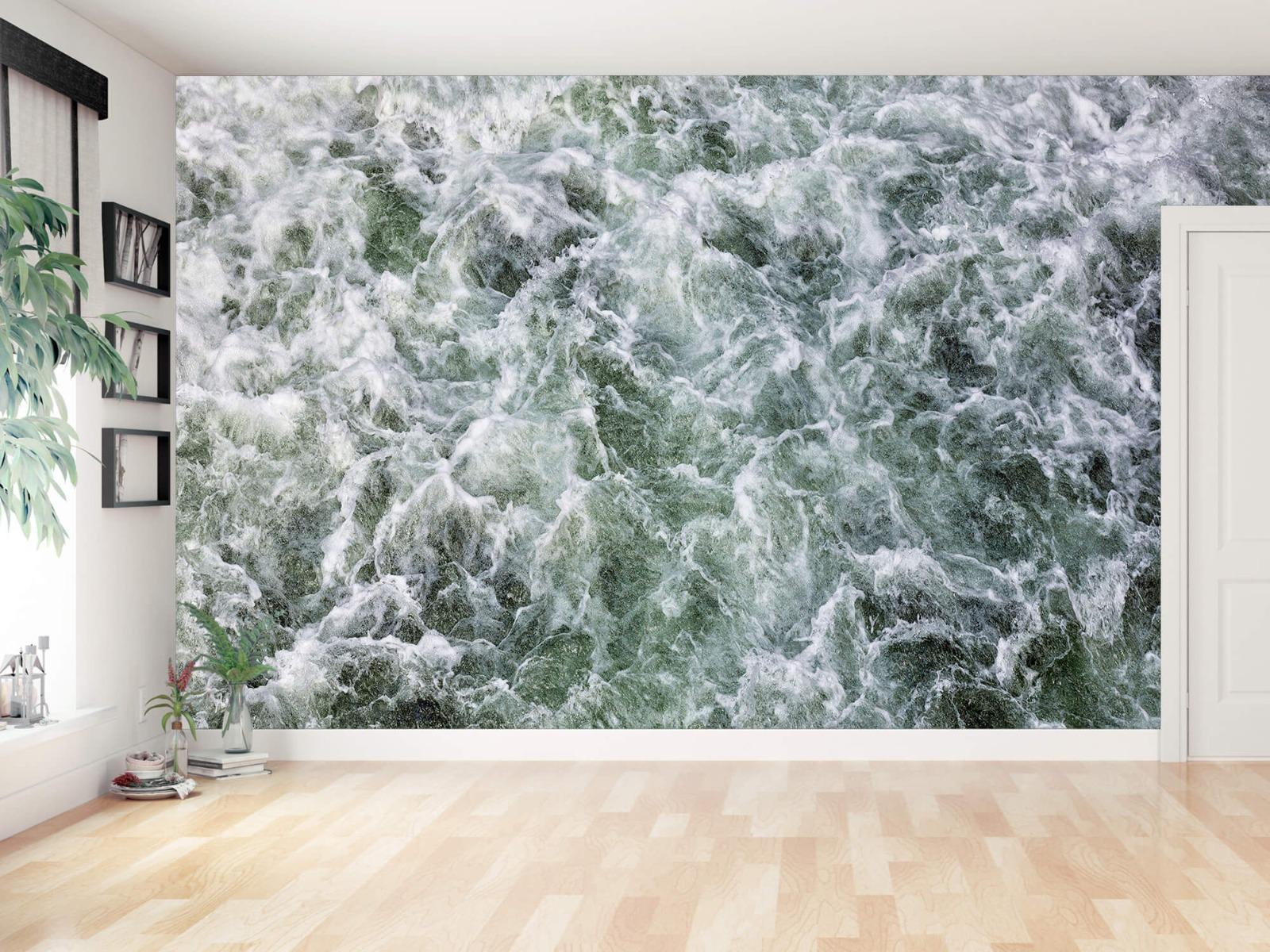 Zeeën en Oceanen - Kolkend water - Wallexclusive - Slaapkamer 11