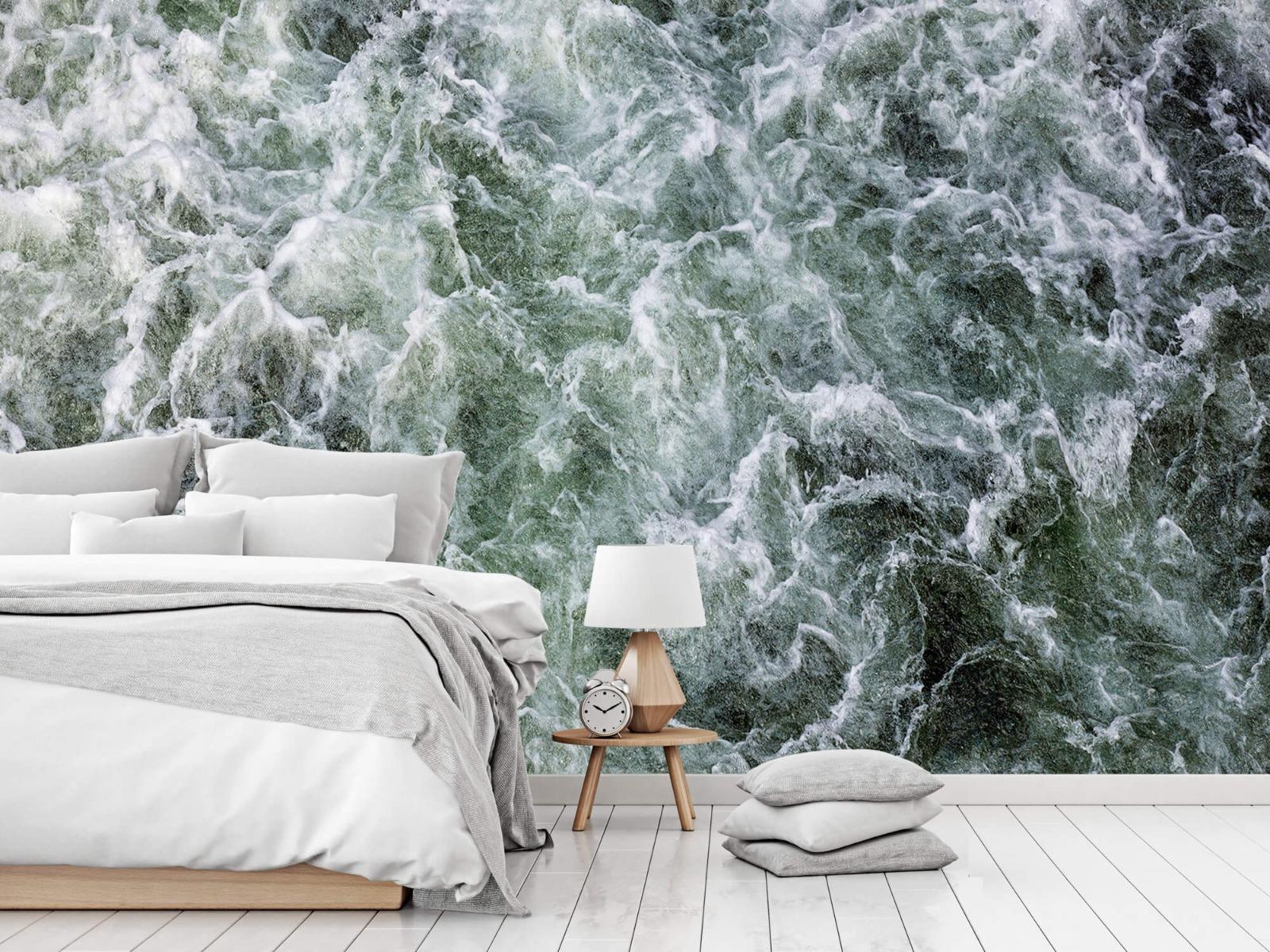 Zeeën en Oceanen - Kolkend water - Wallexclusive - Slaapkamer 14