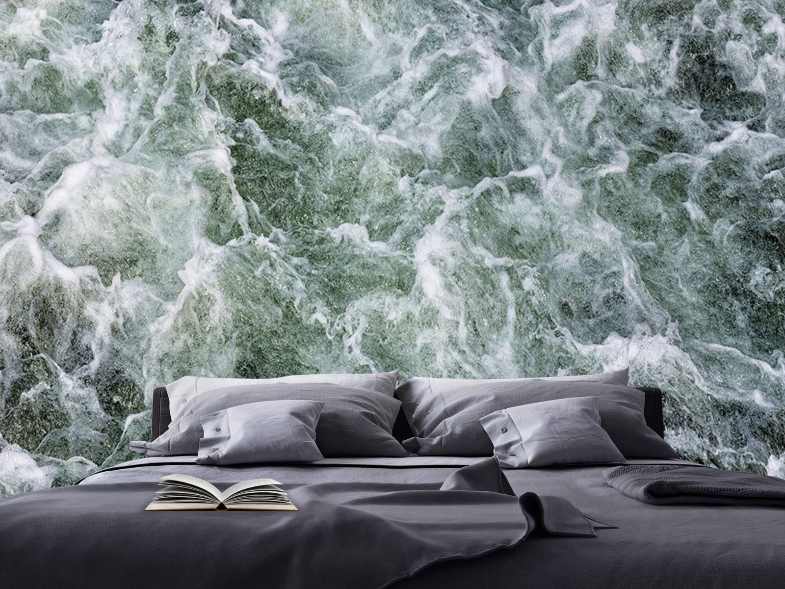 Zeeën en Oceanen - Kolkend water - Wallexclusive - Slaapkamer 17