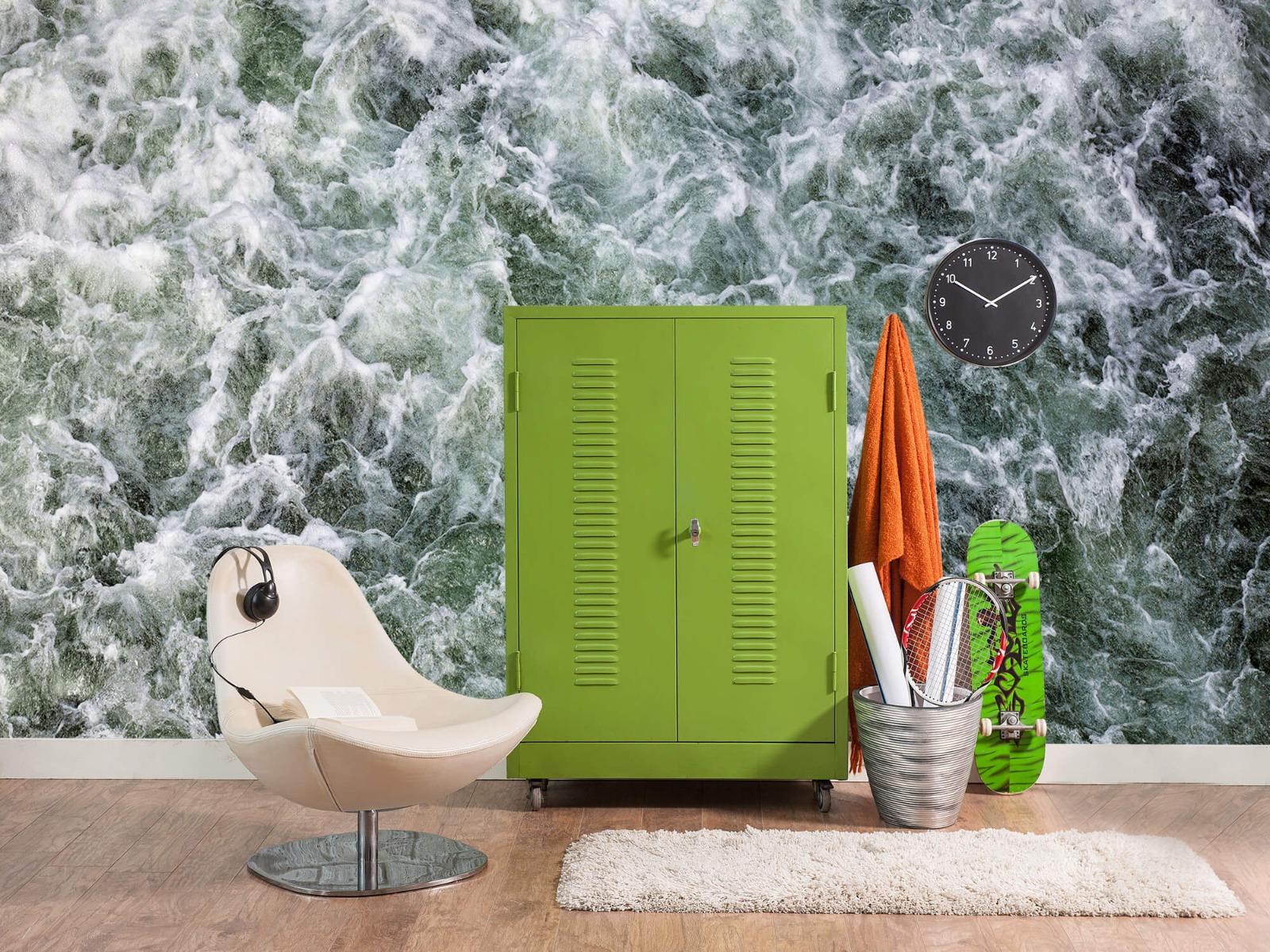 Zeeën en Oceanen - Kolkend water - Wallexclusive - Slaapkamer 18