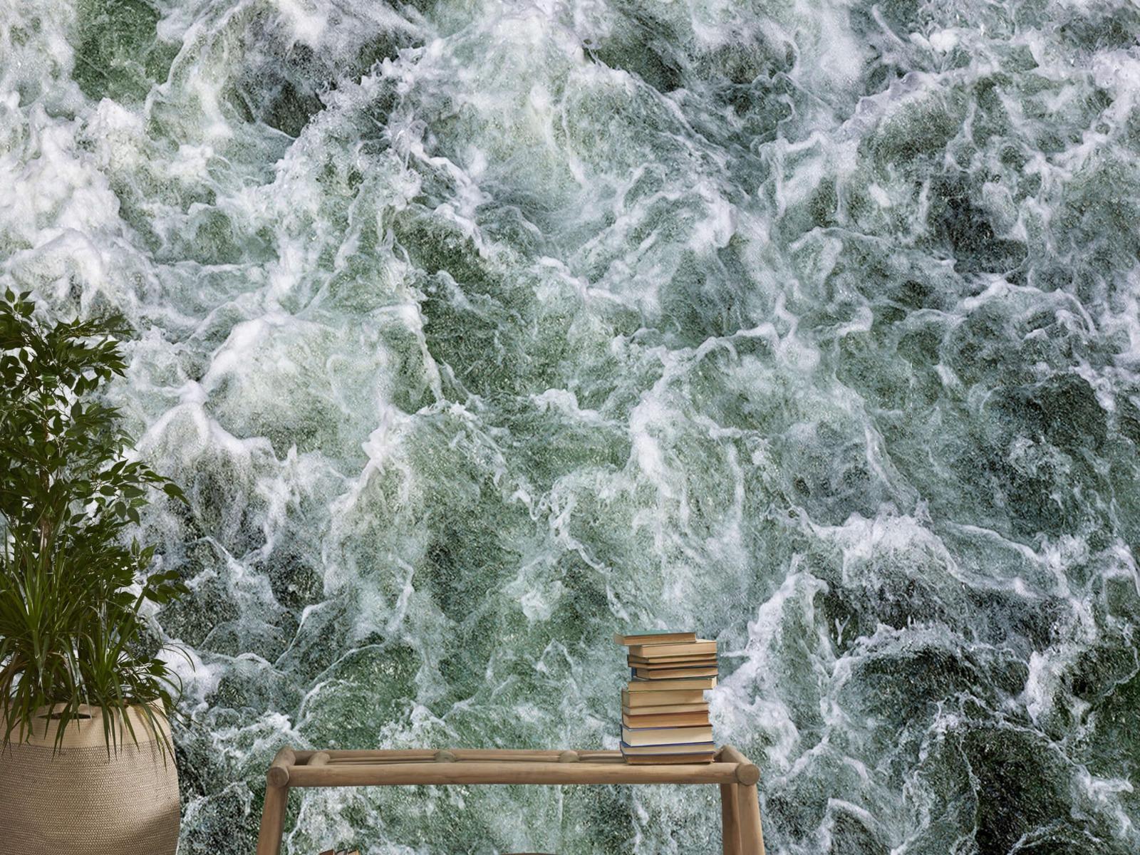 Zeeën en Oceanen - Kolkend water - Wallexclusive - Slaapkamer 20