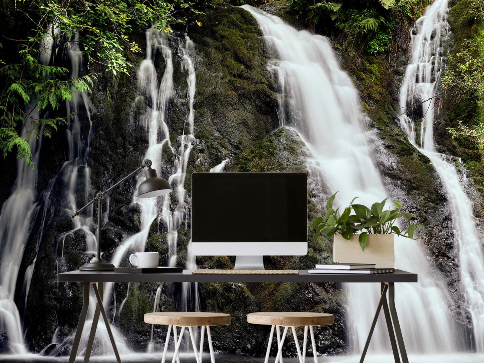 Watervallen - Waterval met 4 stromen - Wallexclusive - Slaapkamer 8