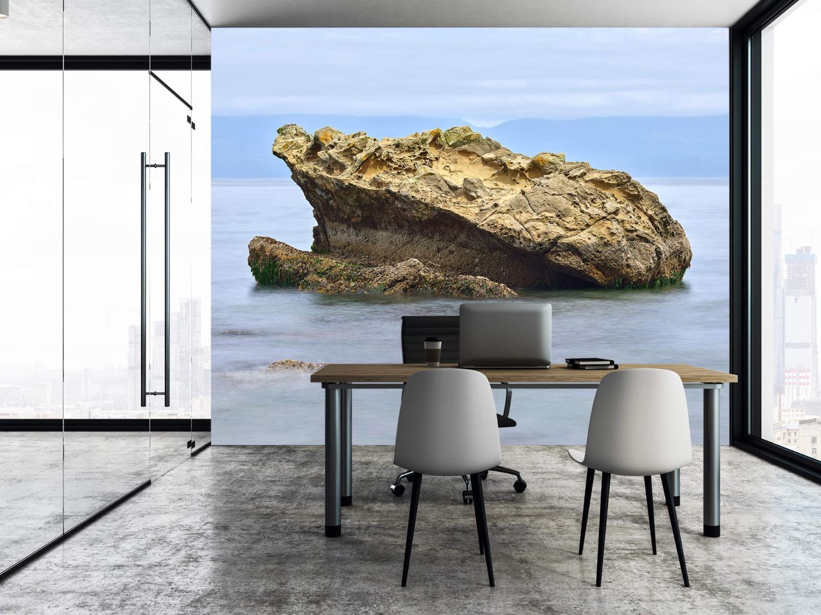 Zeeën en Oceanen - Mooie rots aan de kust - Wallexclusive - Woonkamer 3
