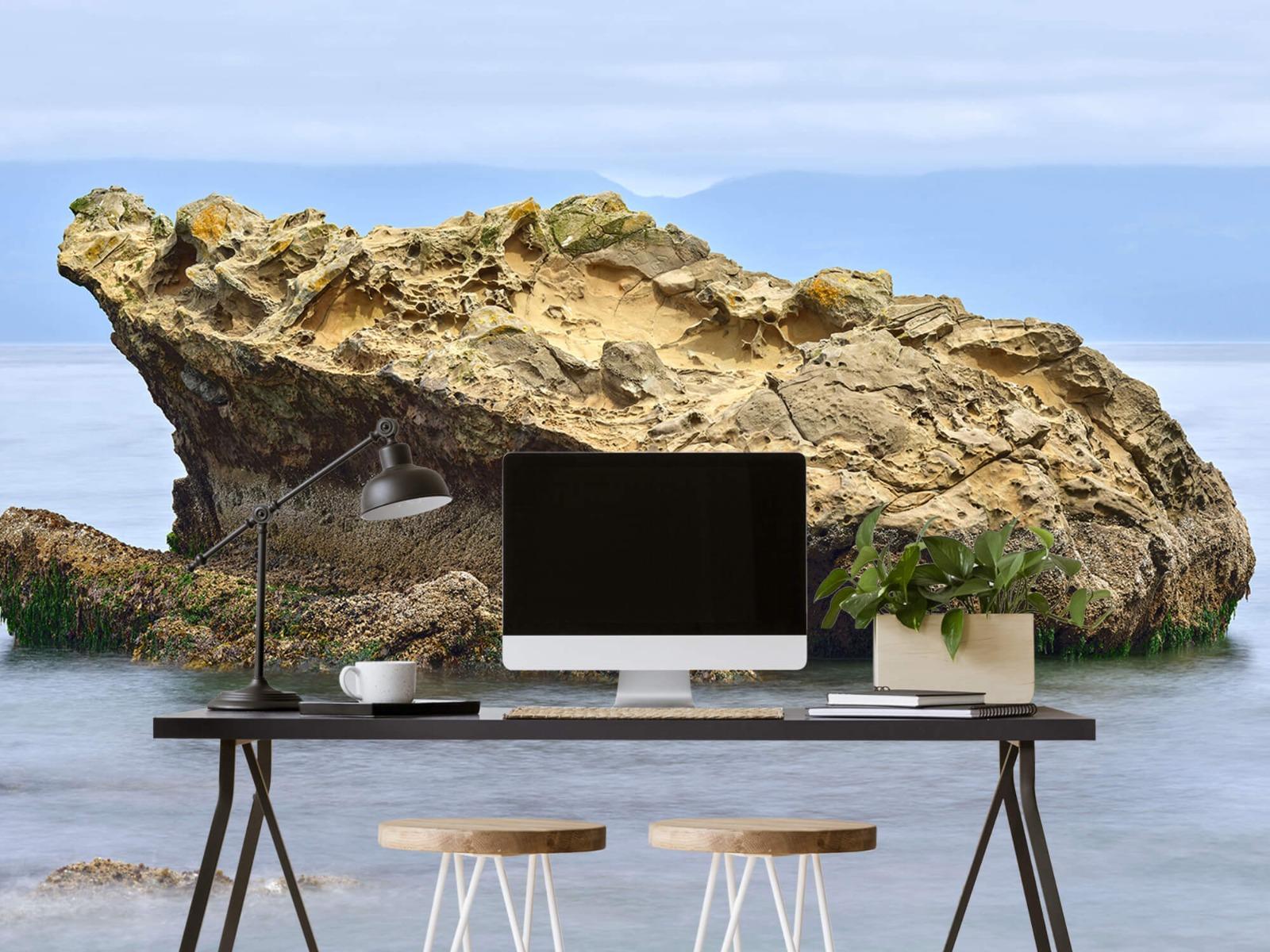 Zeeën en Oceanen - Mooie rots aan de kust - Wallexclusive - Woonkamer 6
