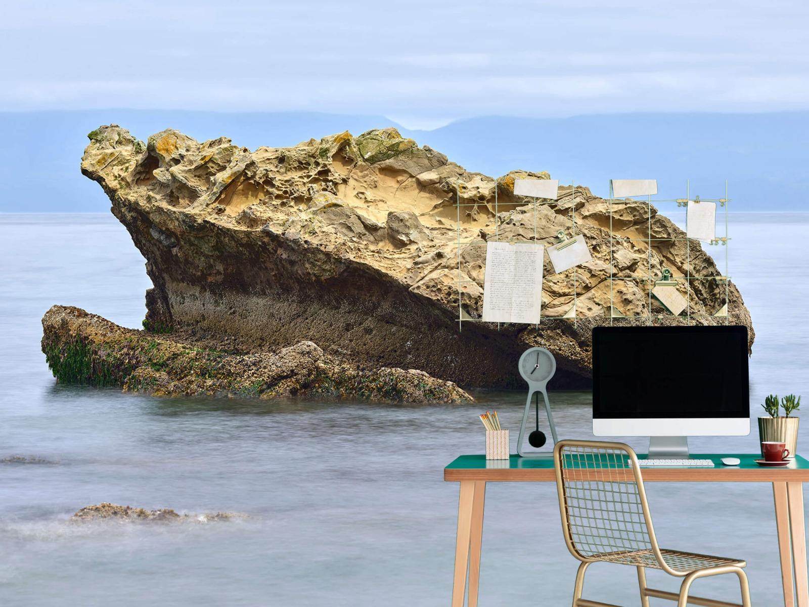 Zeeën en Oceanen - Mooie rots aan de kust - Wallexclusive - Woonkamer 7