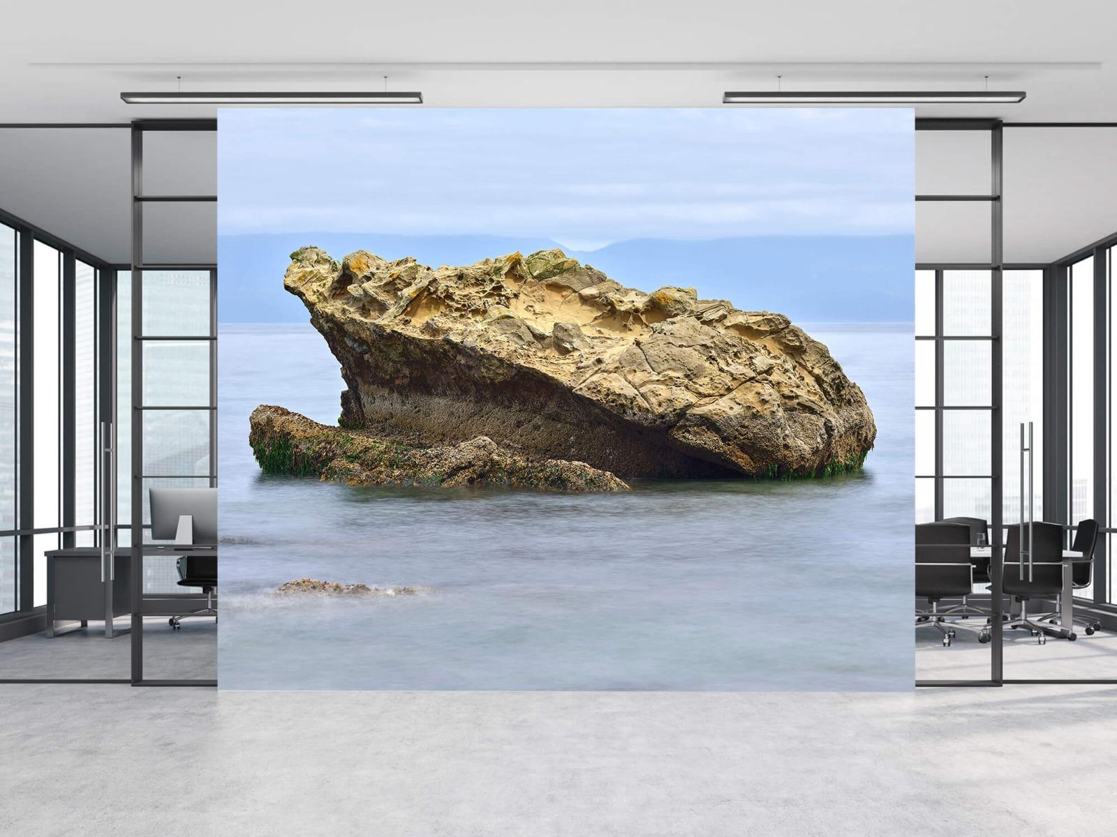 Zeeën en Oceanen - Mooie rots aan de kust - Wallexclusive - Woonkamer 8