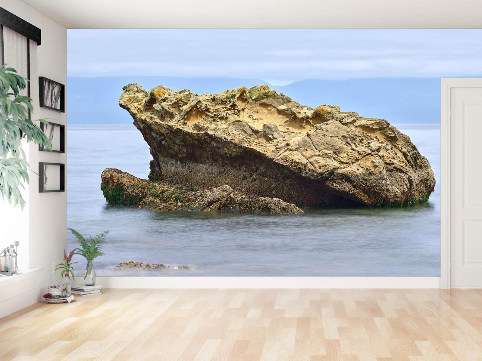 Zeeën en Oceanen - Mooie rots aan de kust - Wallexclusive - Woonkamer 11