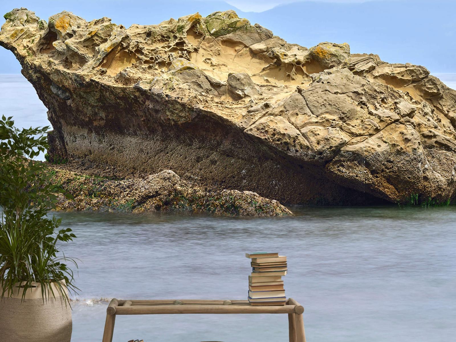 Zeeën en Oceanen - Mooie rots aan de kust - Wallexclusive - Woonkamer 20
